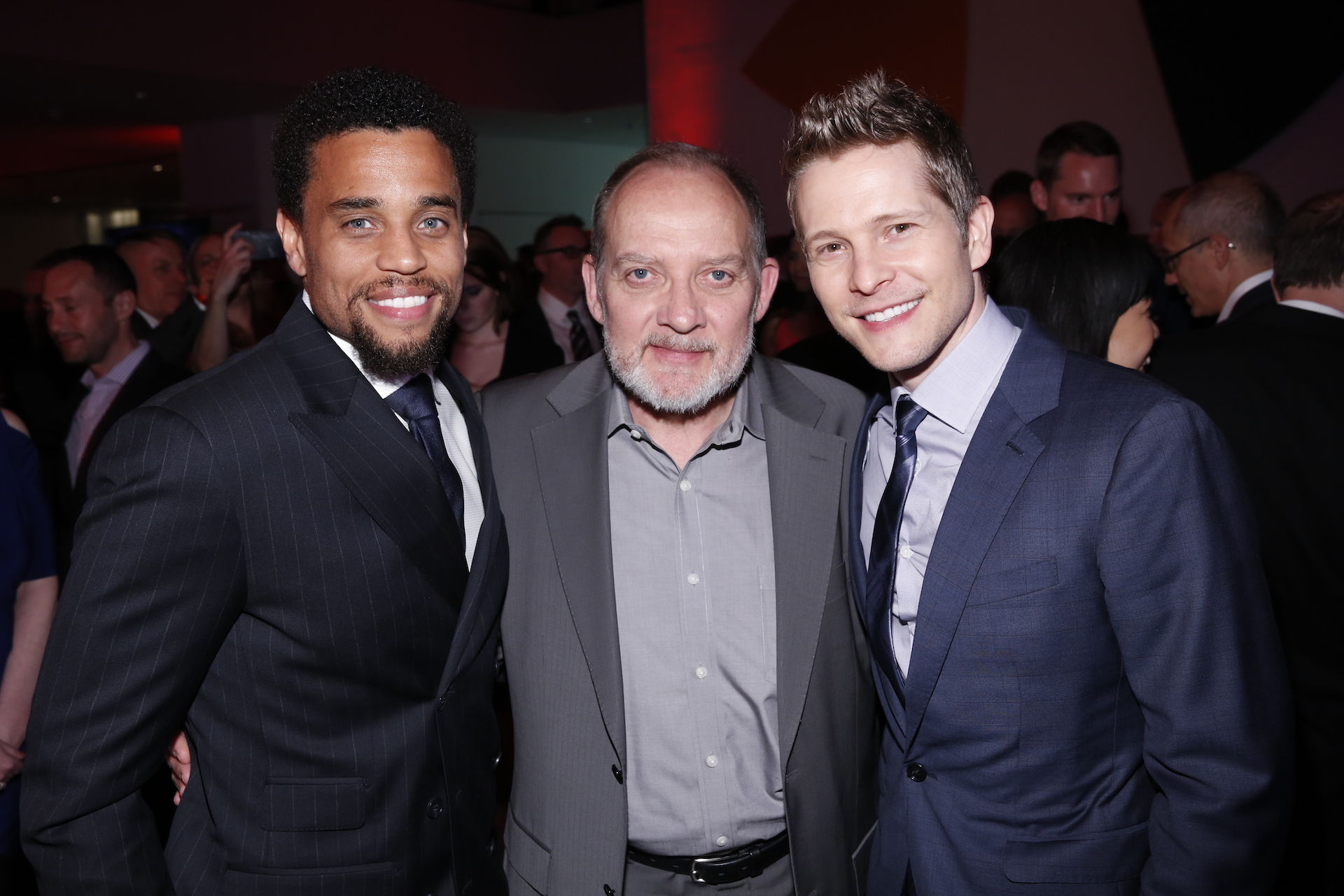 Michael Ealy, Zach Grenier, and Matt Czuchry