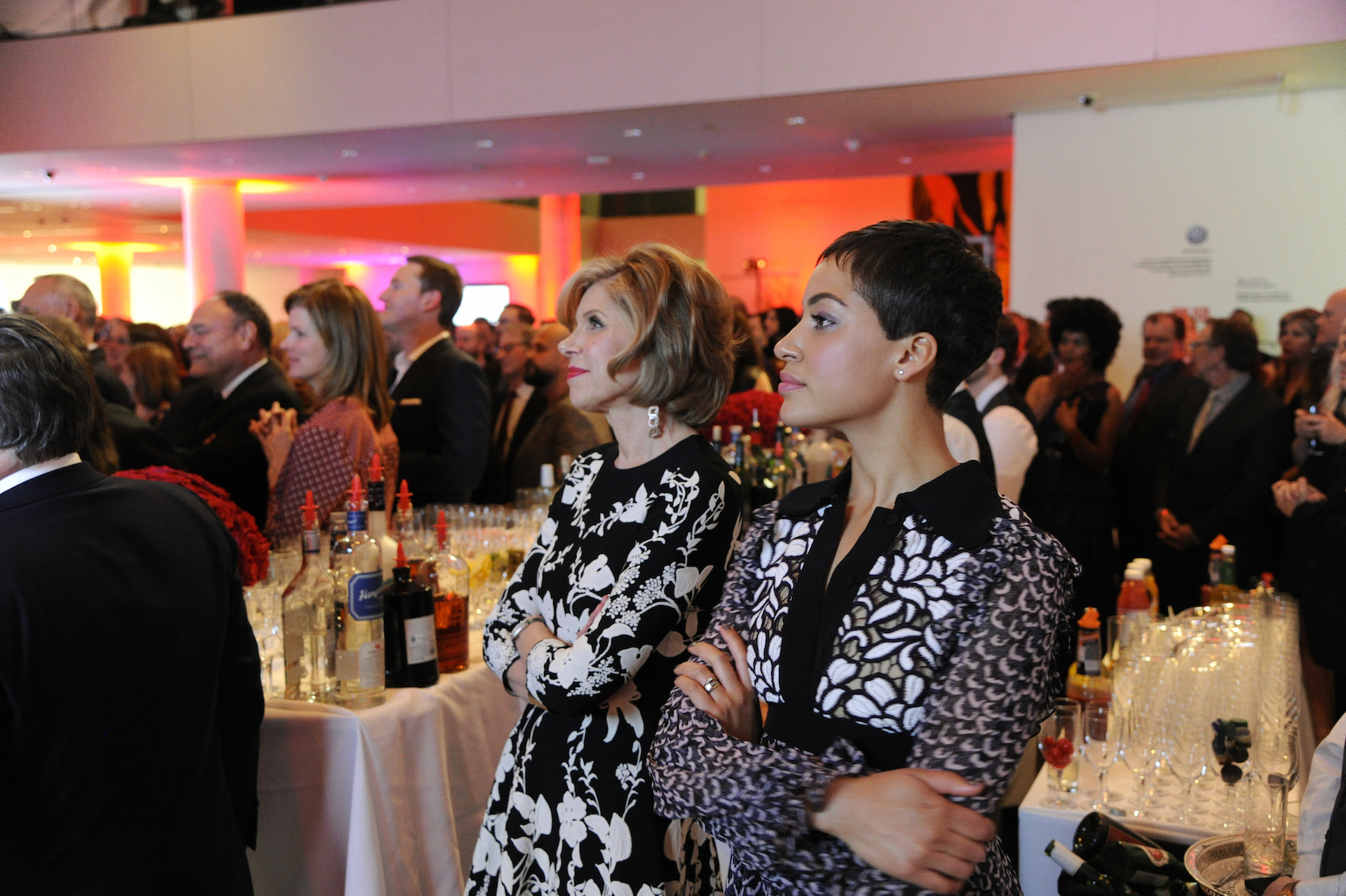 Christine Baranski and Cush Jumbo