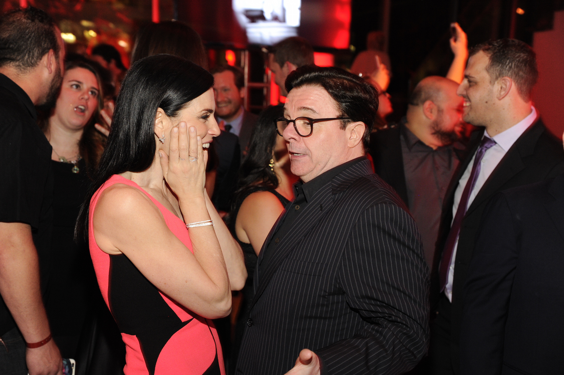 Julianna Margulies and Nathan Lane