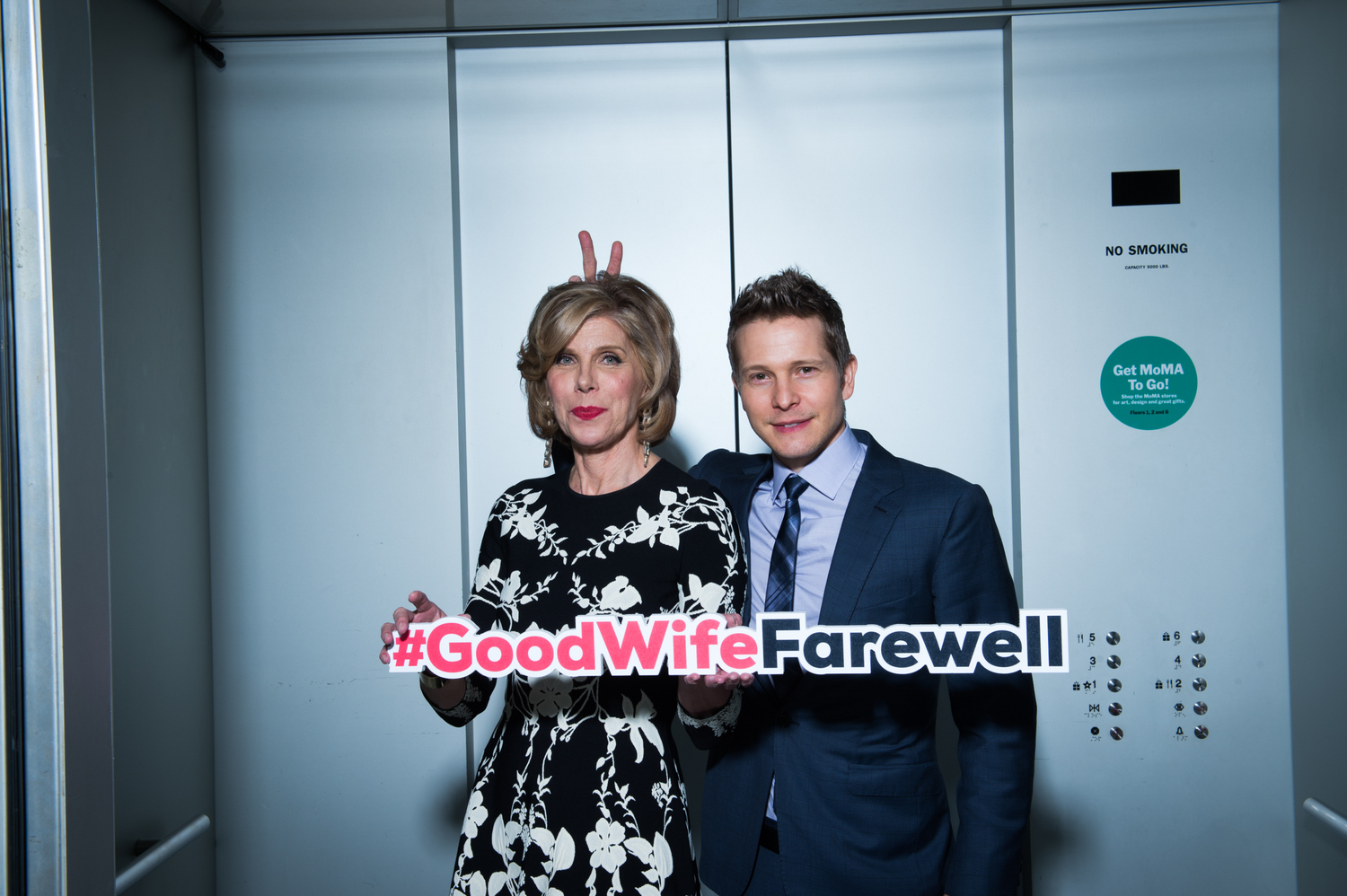 Christine Baranski and Matt Czuchry