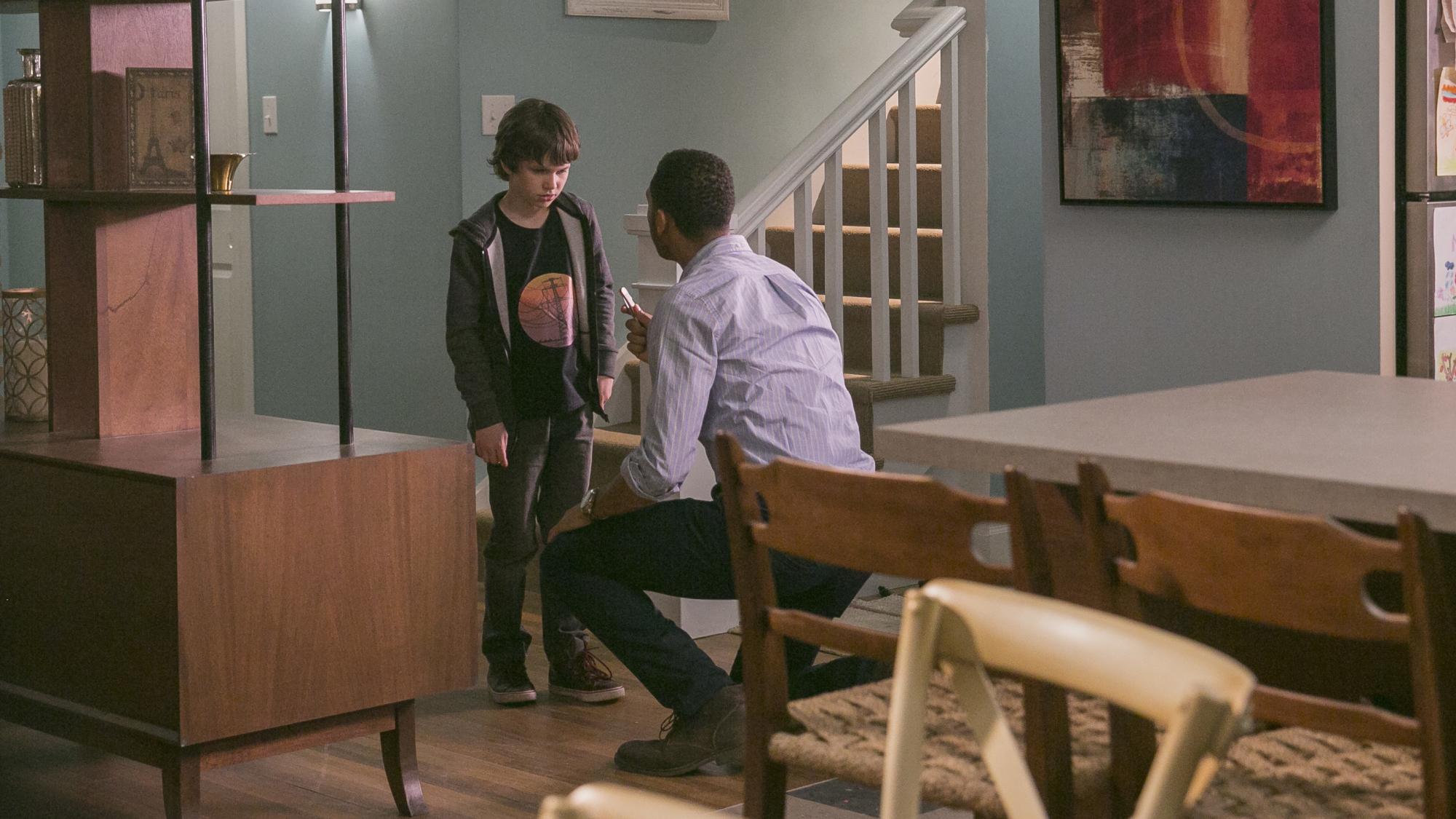 Brady asks Jack about a knife.