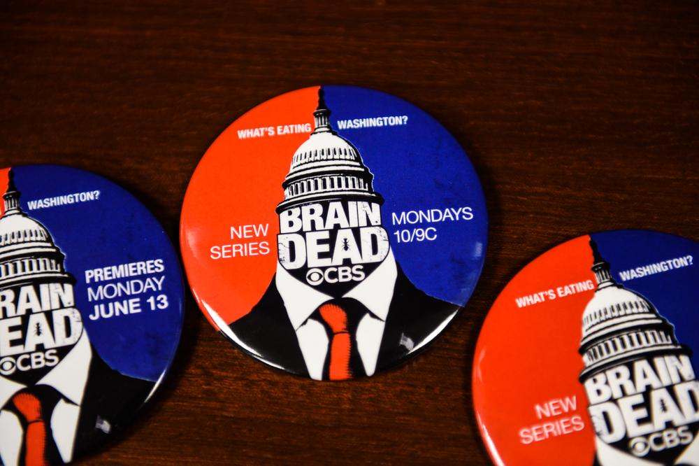 Vote BrainDead 2016! Or just make sure to watch.