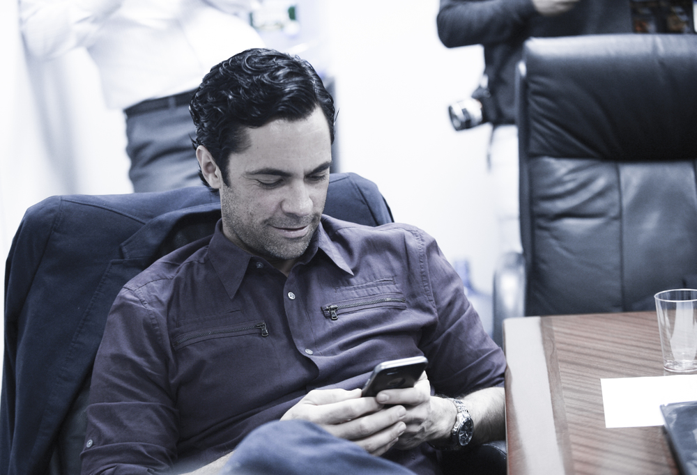 Danny Pino is always dialed in.