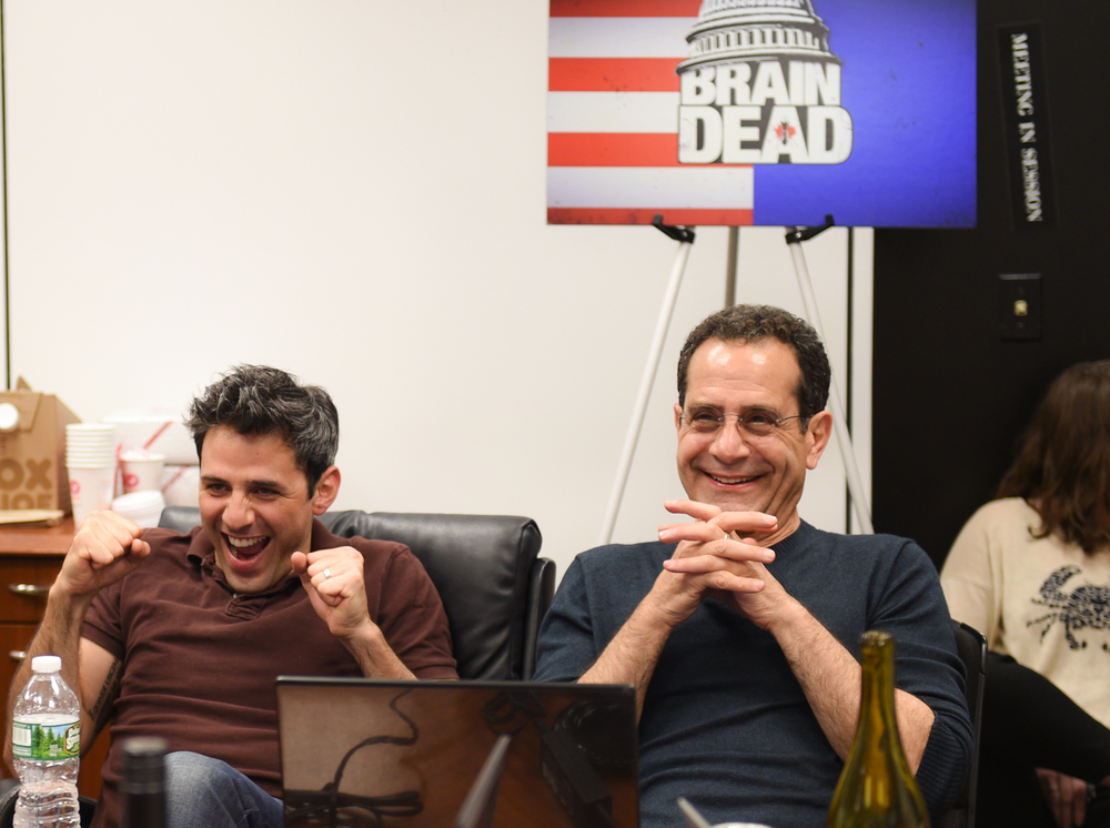 Charlie Semine and Tony Shalhoub before ...