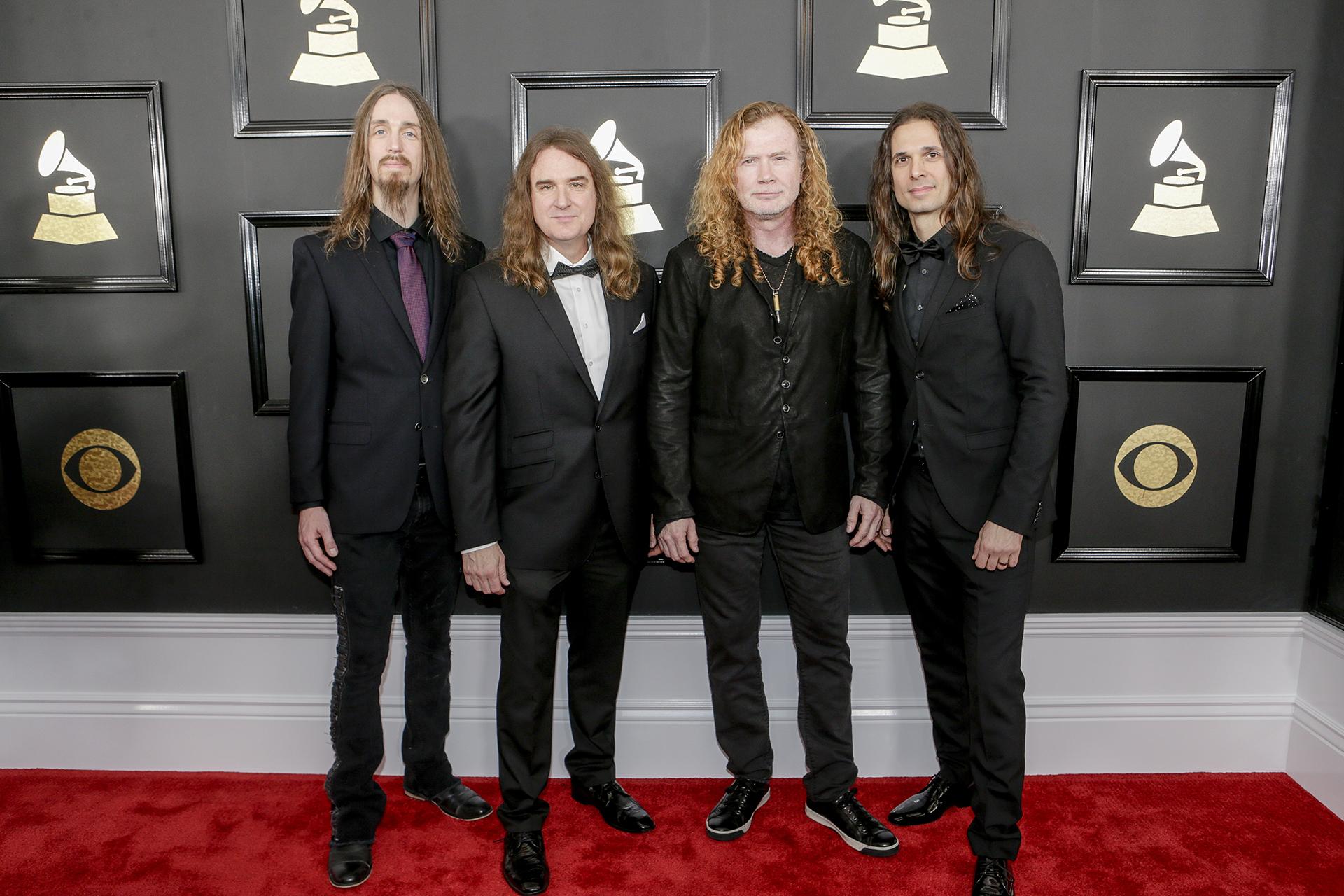 GRAMMYs 2017: Megadeth
