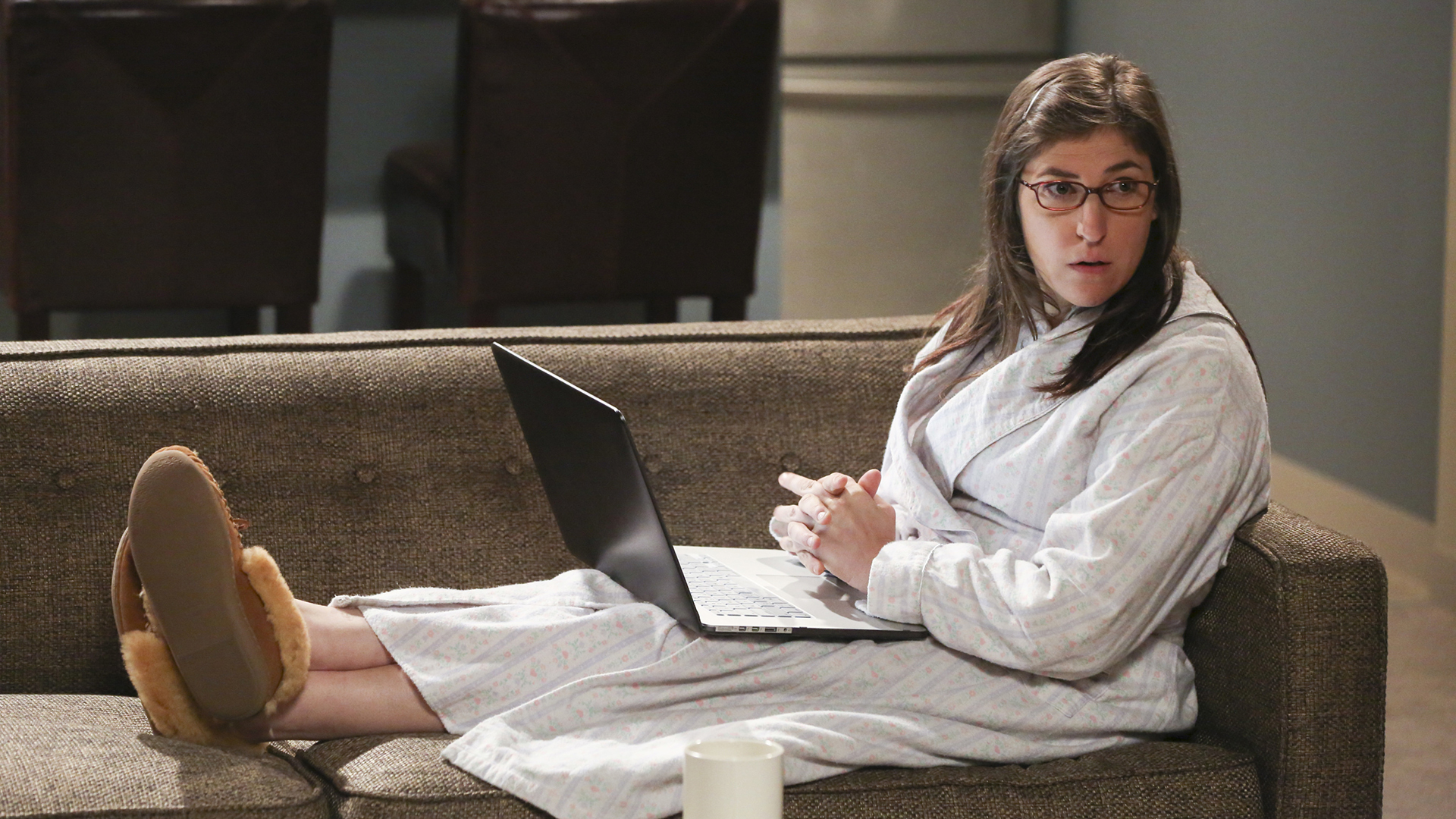 Mayim Bialik's first-ever email address in 1995 was