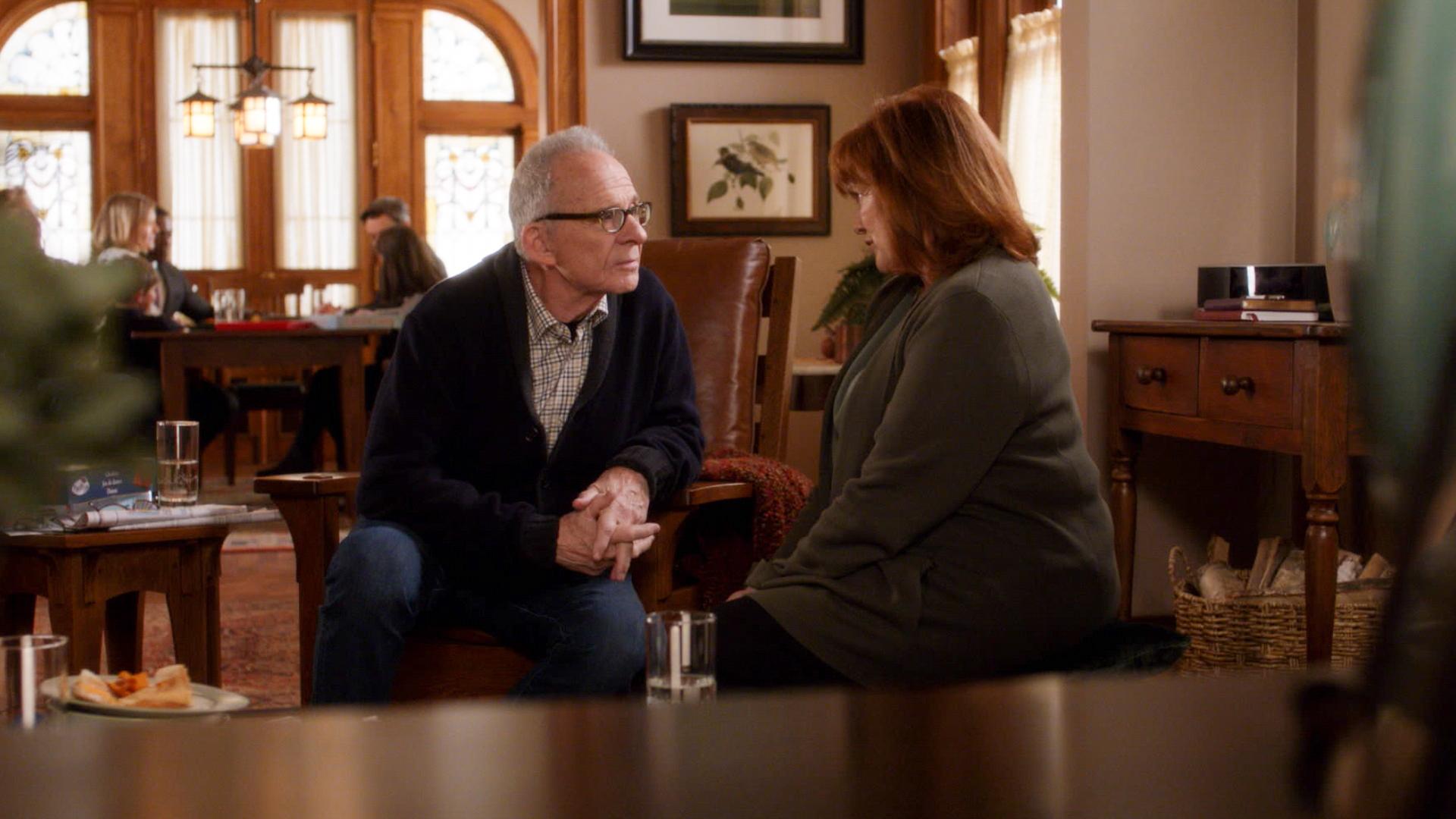Ron Rifkin as Dennis Finch and Blair Brown as Marie Finch