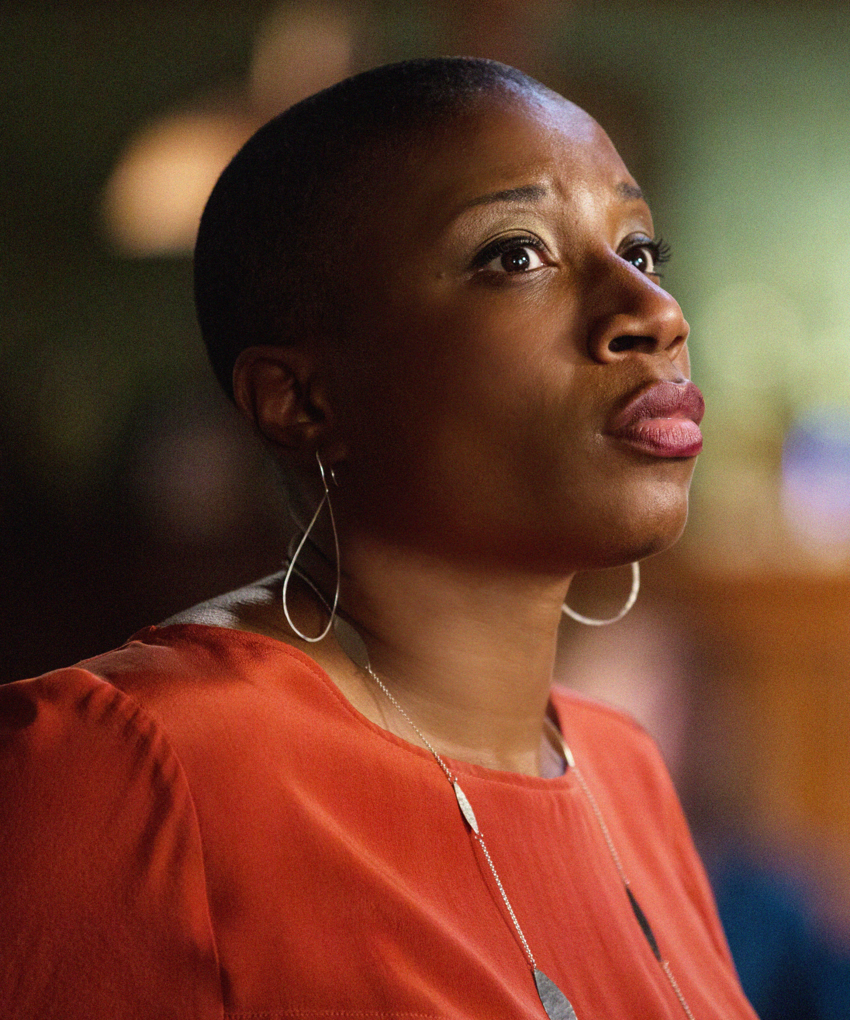 11. Aisha Hinds was a guest star in the series