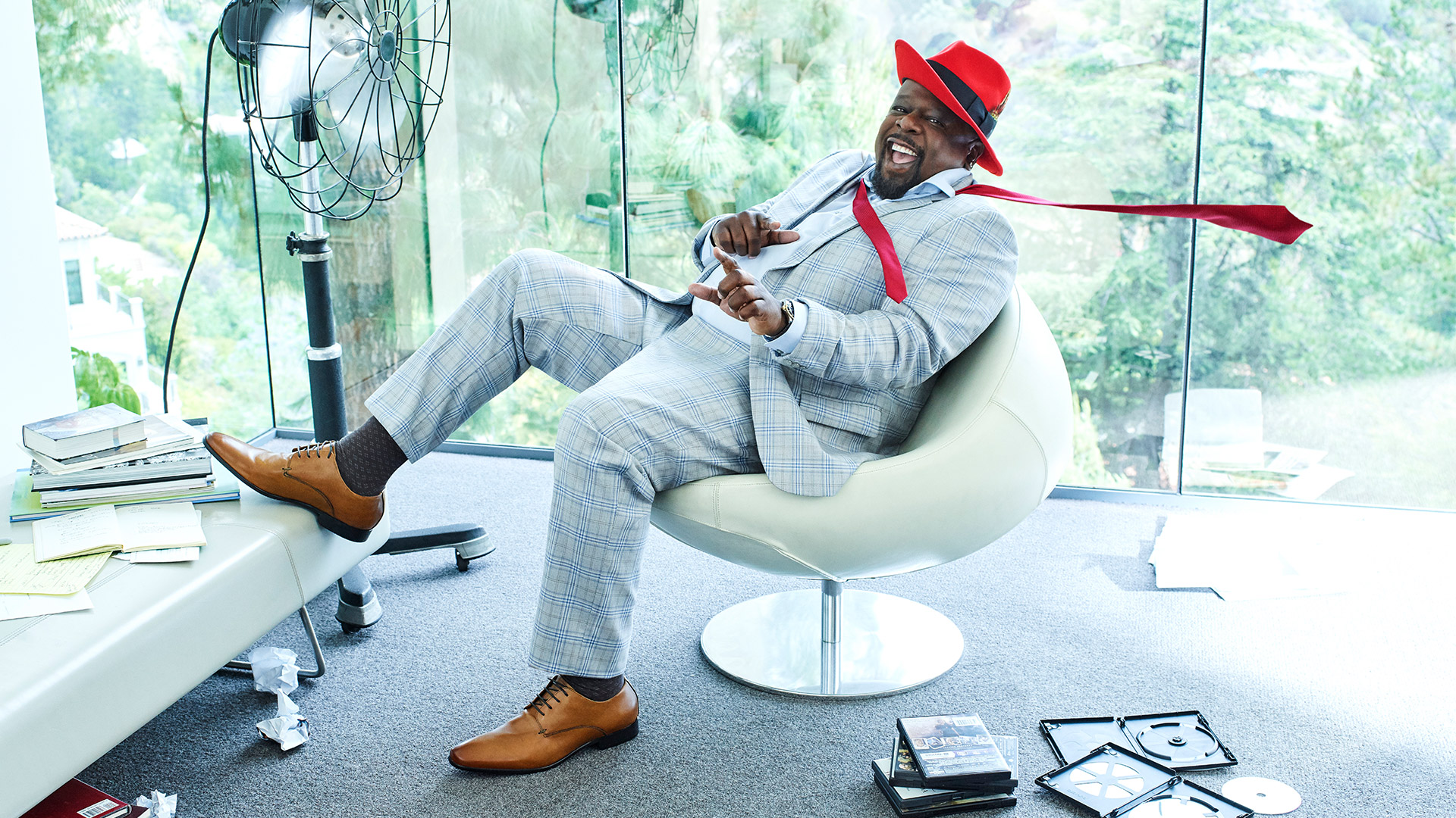 Cedric the Entertainer is blown away