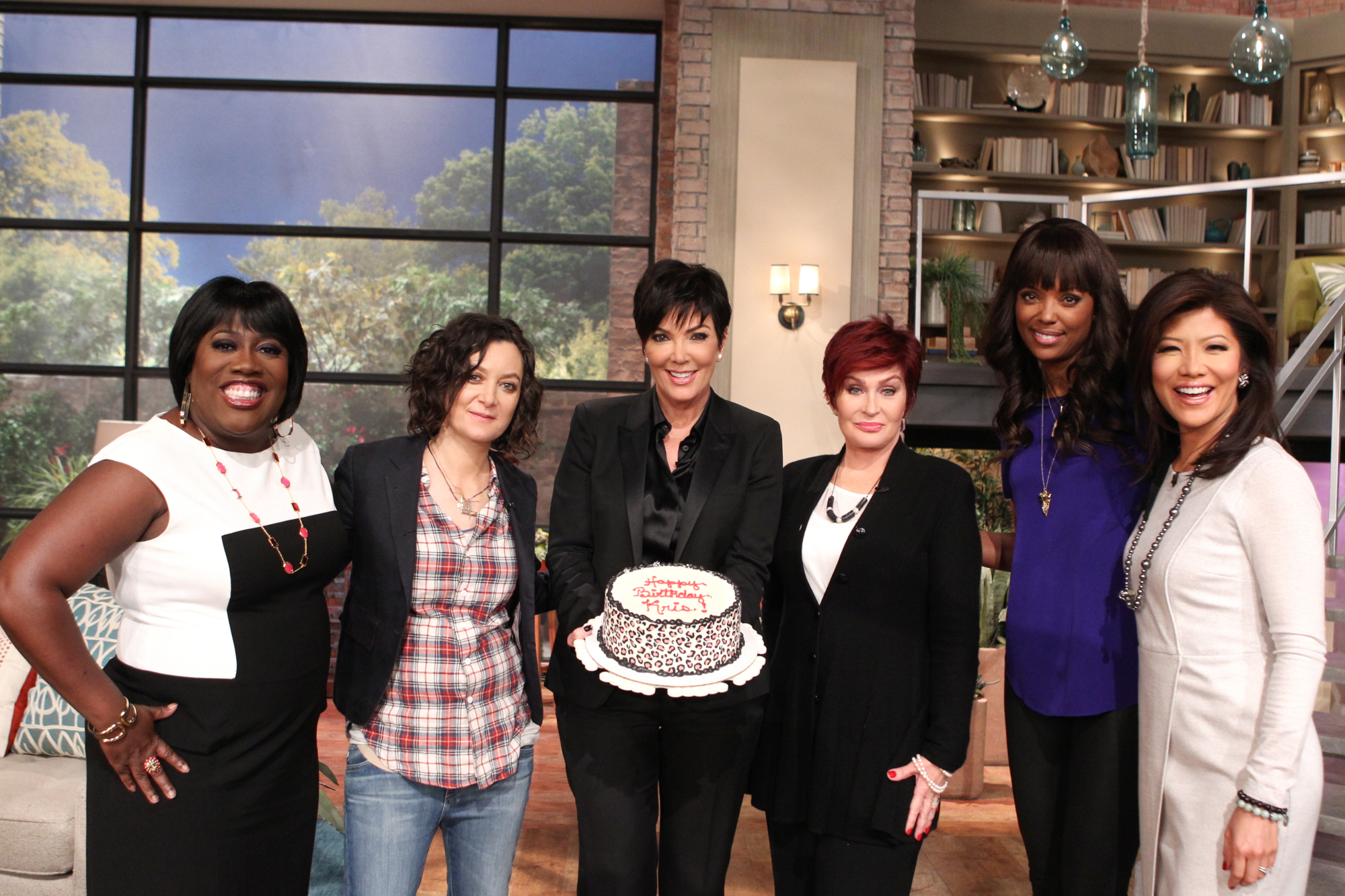 Kris Jenner On THE TALK.