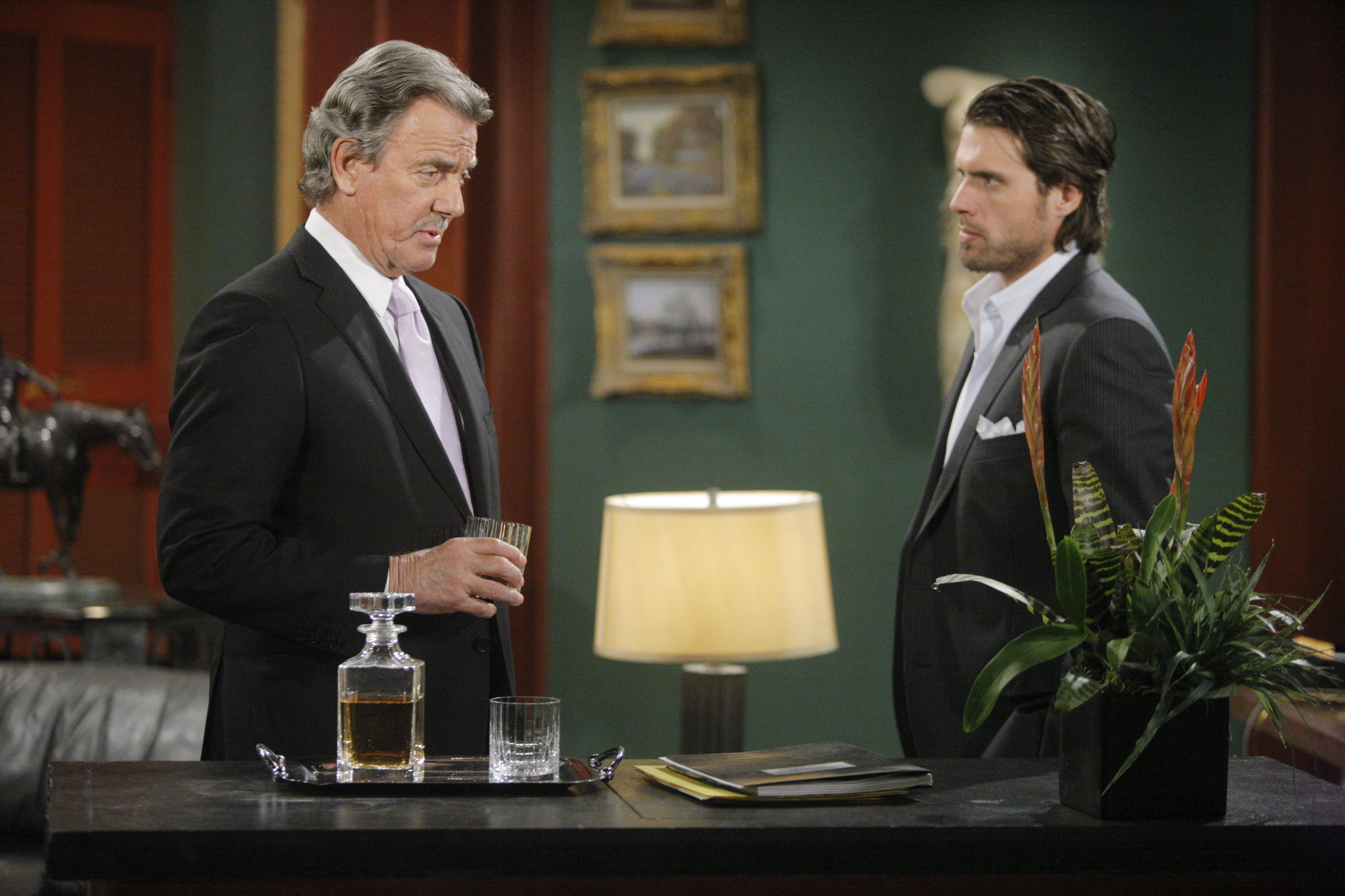 Victor and Nicholas Newman