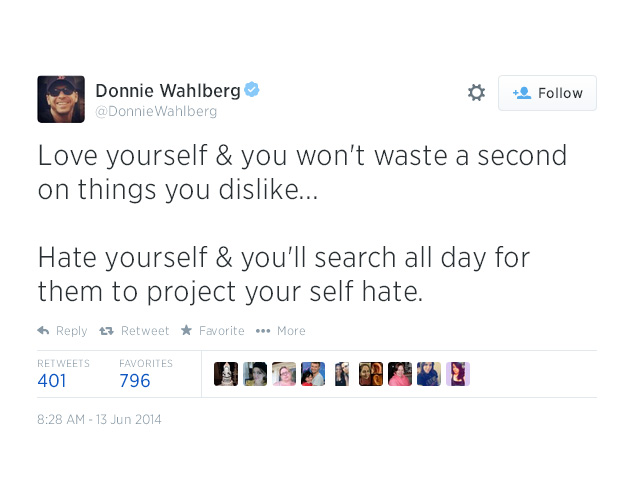 15. Love yourself & you won't waste a second on things you dislike...