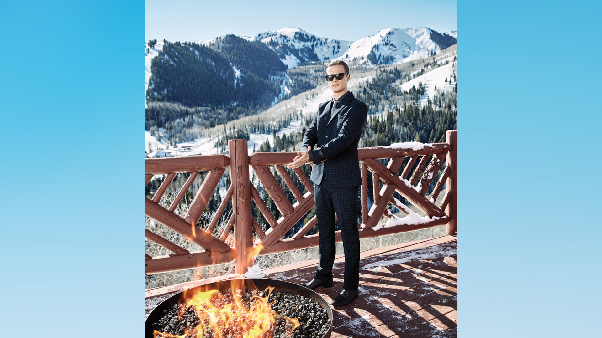 Matthew Gray Gubler turns up the heat in Utah