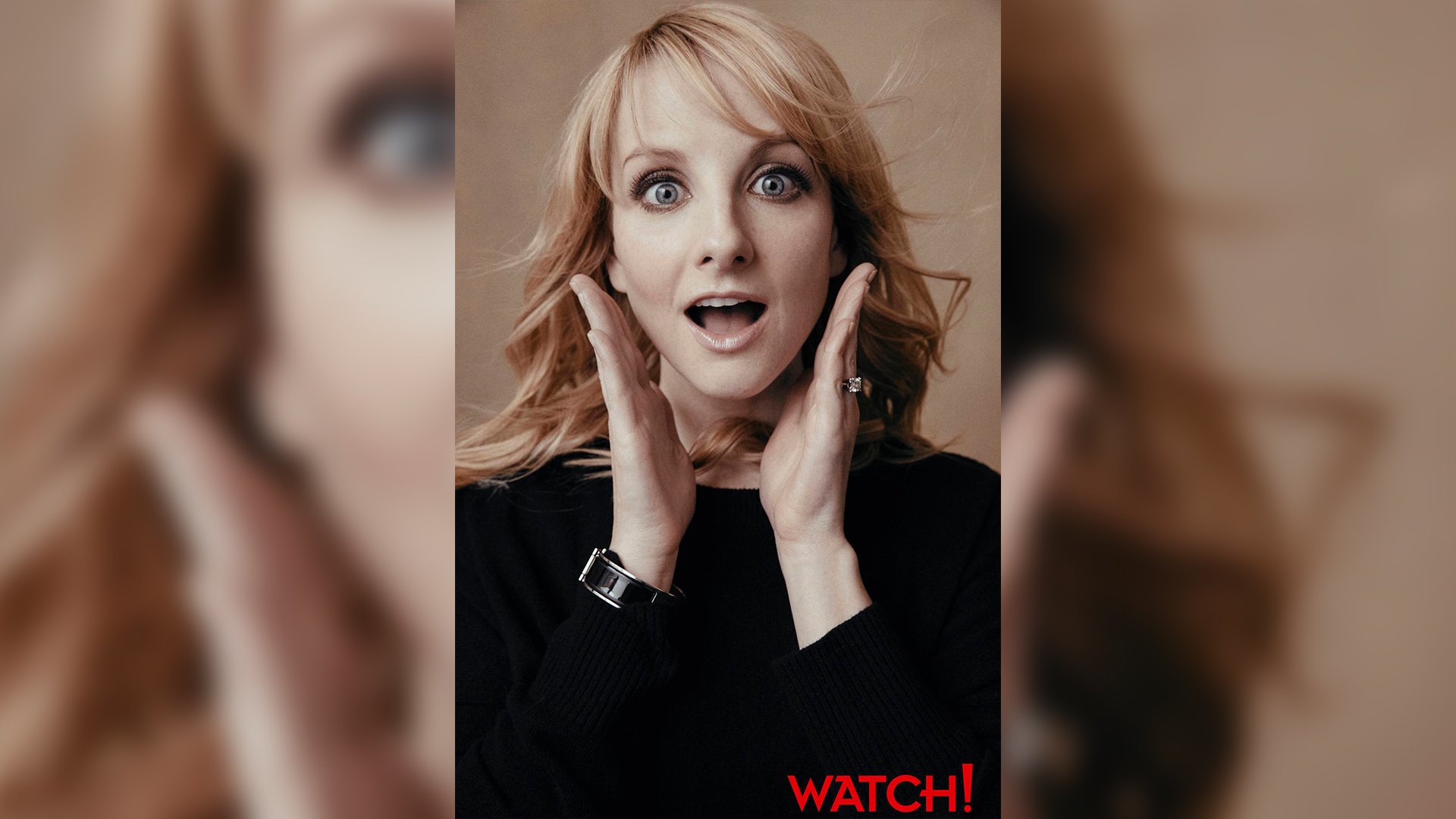 This exquisite photo of Melissa Rauch is eye-opening