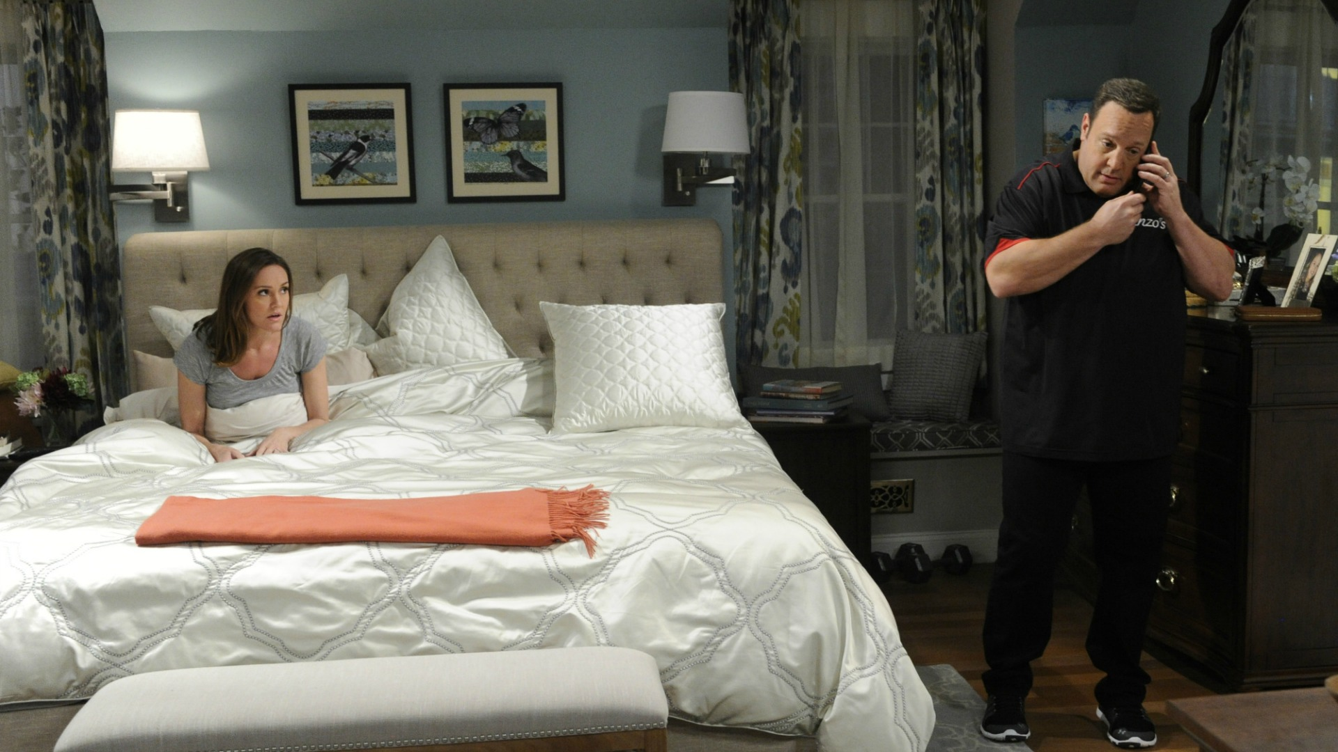 Donna grows concerned when Kevin answers a call late at night.