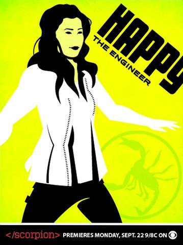 Scorpion Trading Cards - Happy Quinn