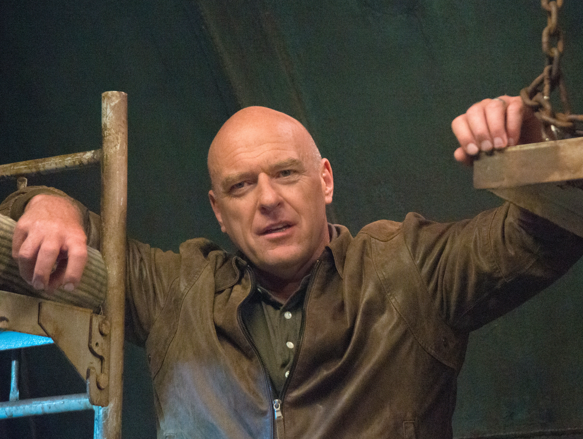 15. Dean Norris is from South Bend, Indiana.