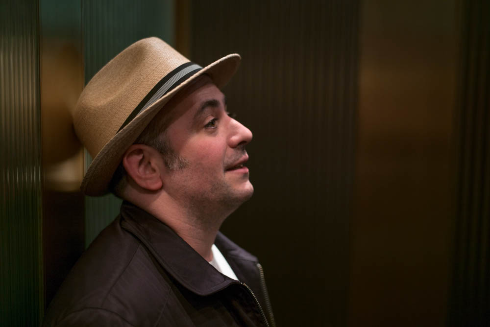 Supervising Producer Matt Lappin, really feeling that elevator jazz.