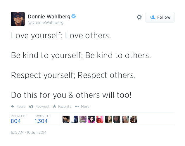 16. Love yourself; Love others.
