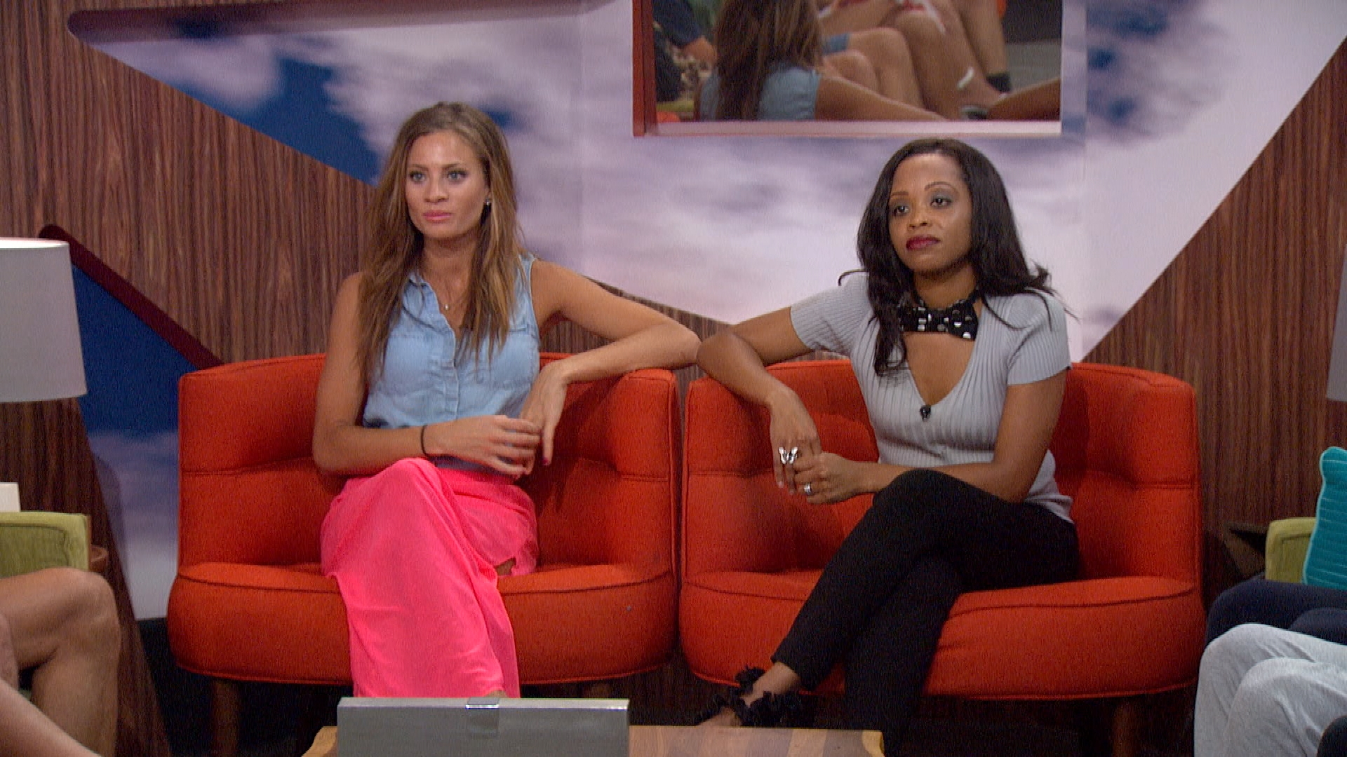 Amber and Jocasta up for eviction
