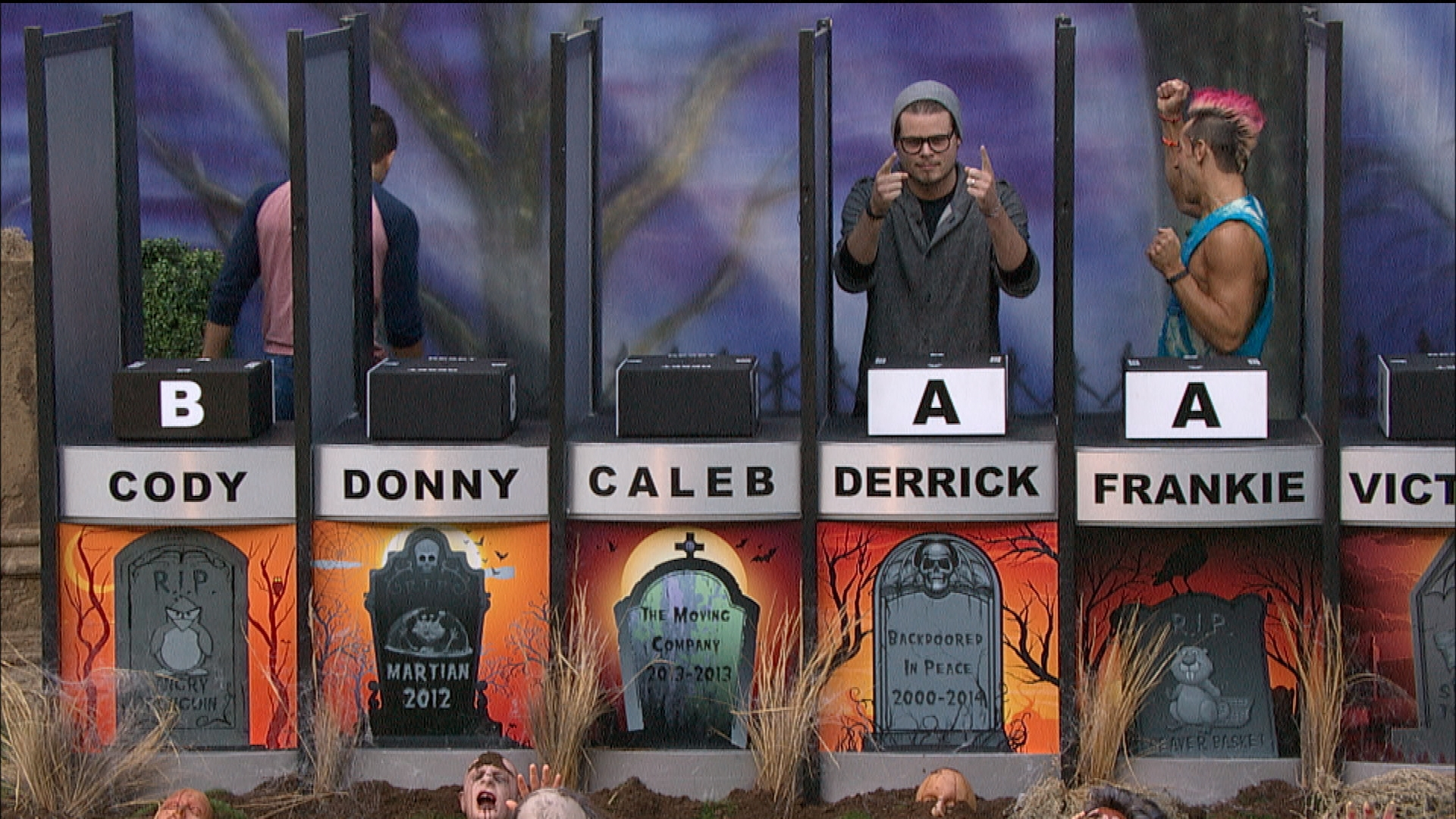 Derrick and Frankie win