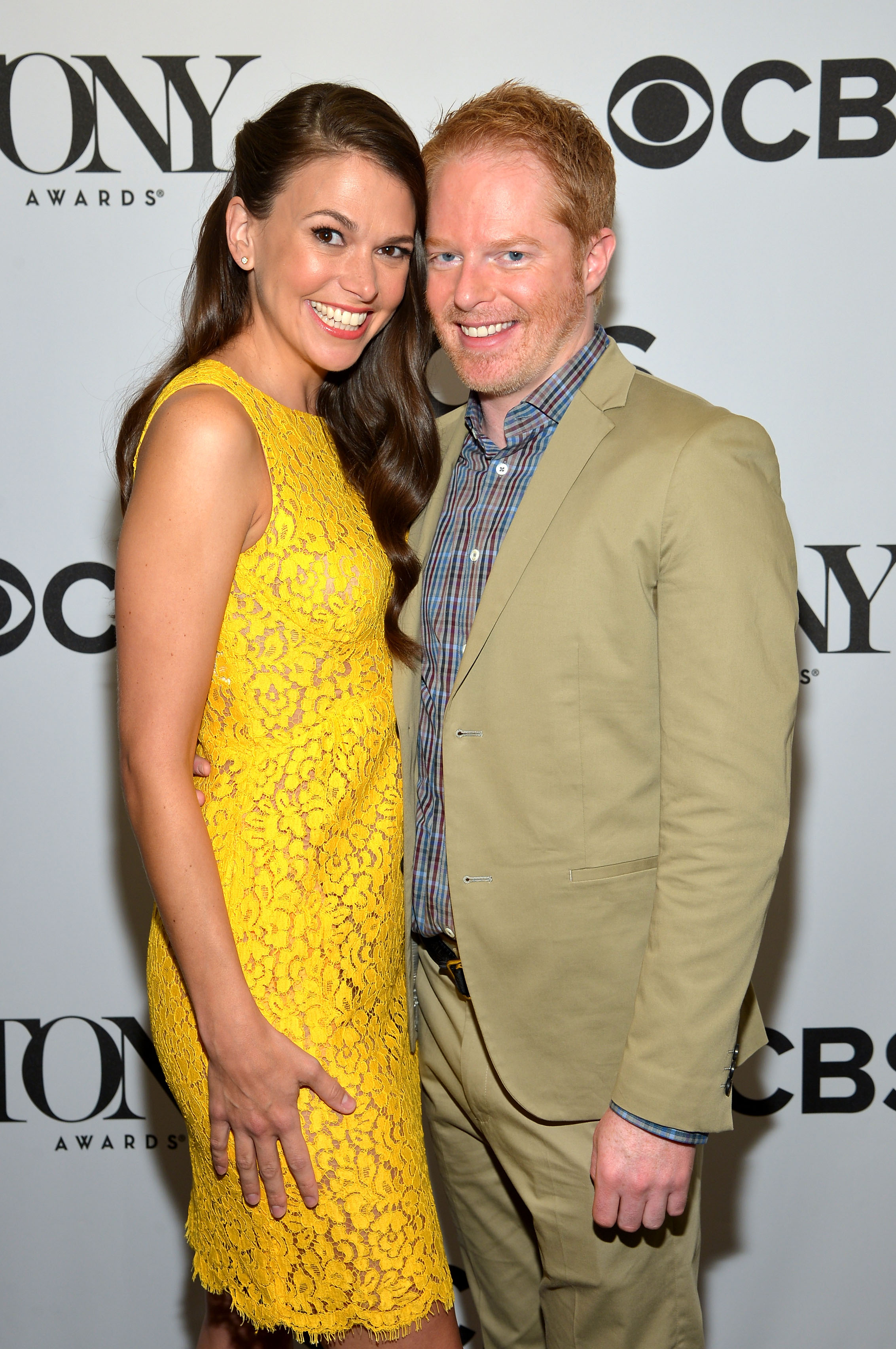 Sutton Foster and Jesse Tyler Ferguson