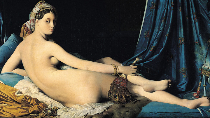 Grande Odalisque without Avocado (Not As Good!!!), Dominique Ingres, 1814