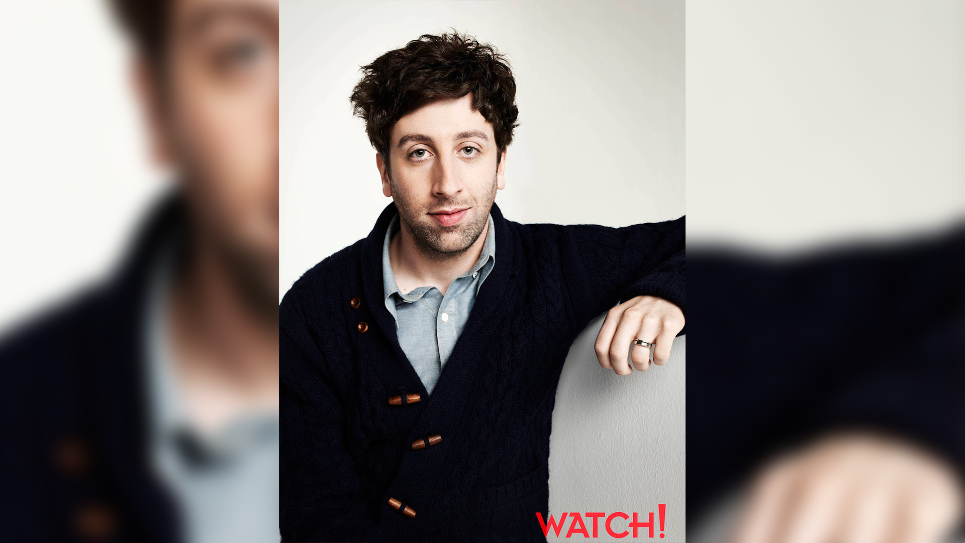 Looking good, Simon Helberg!