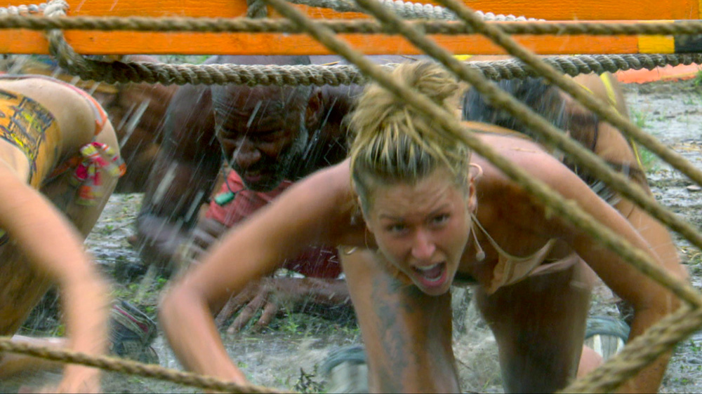 Andrea During  a Challenge