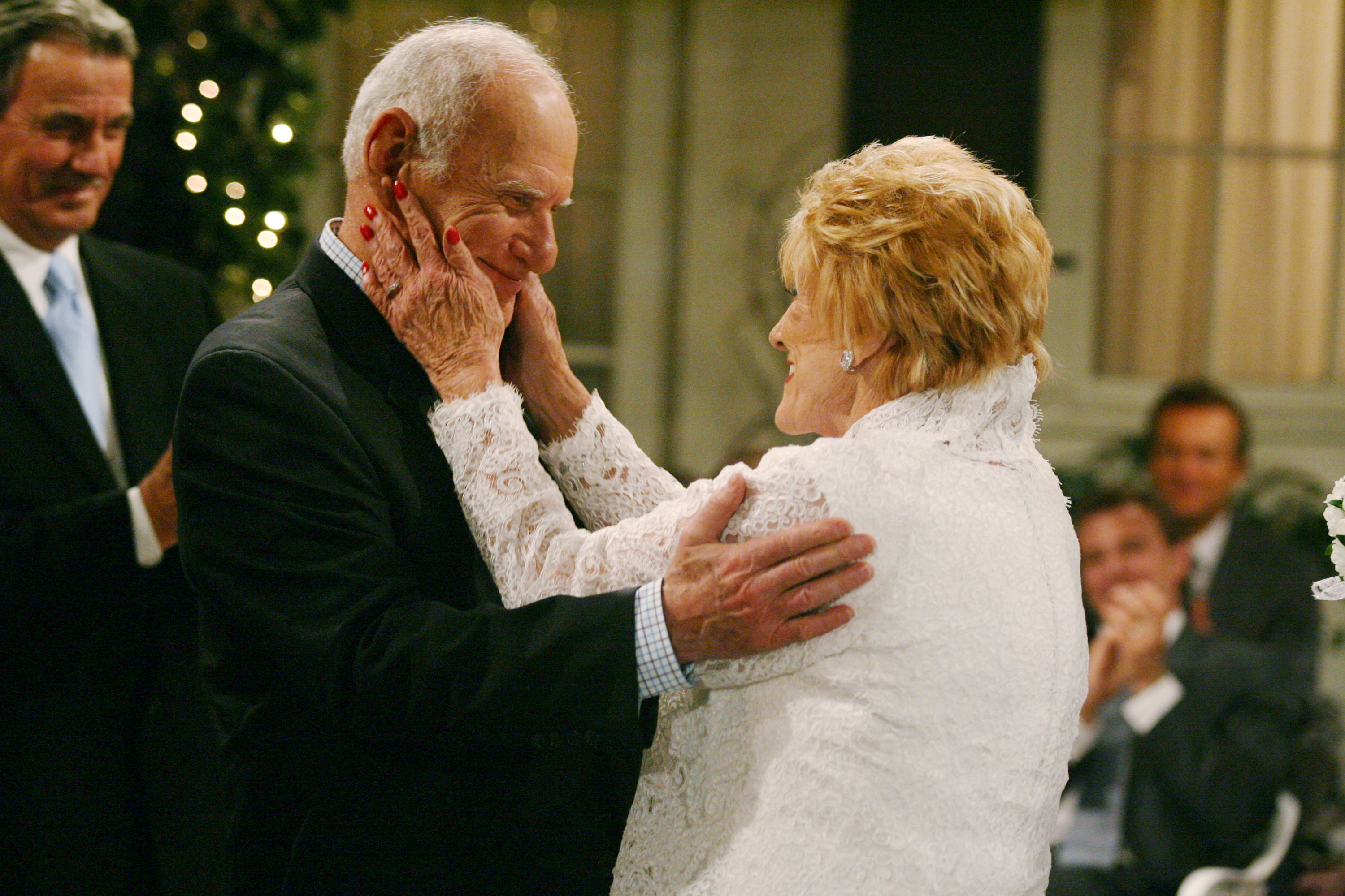 Patrick Murphy and Katherine Chancellor found happiness together later in life.