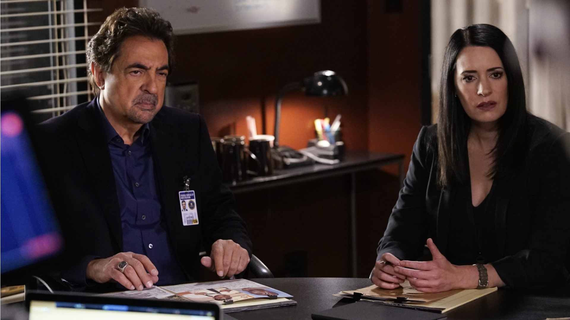 Rossi and Prentiss discuss potential motives.