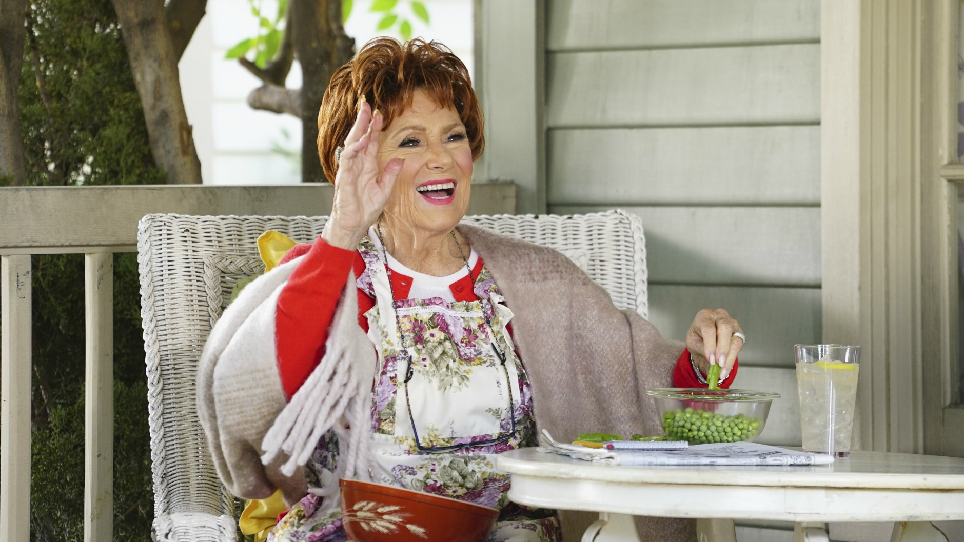 Marion Ross' character's initilals