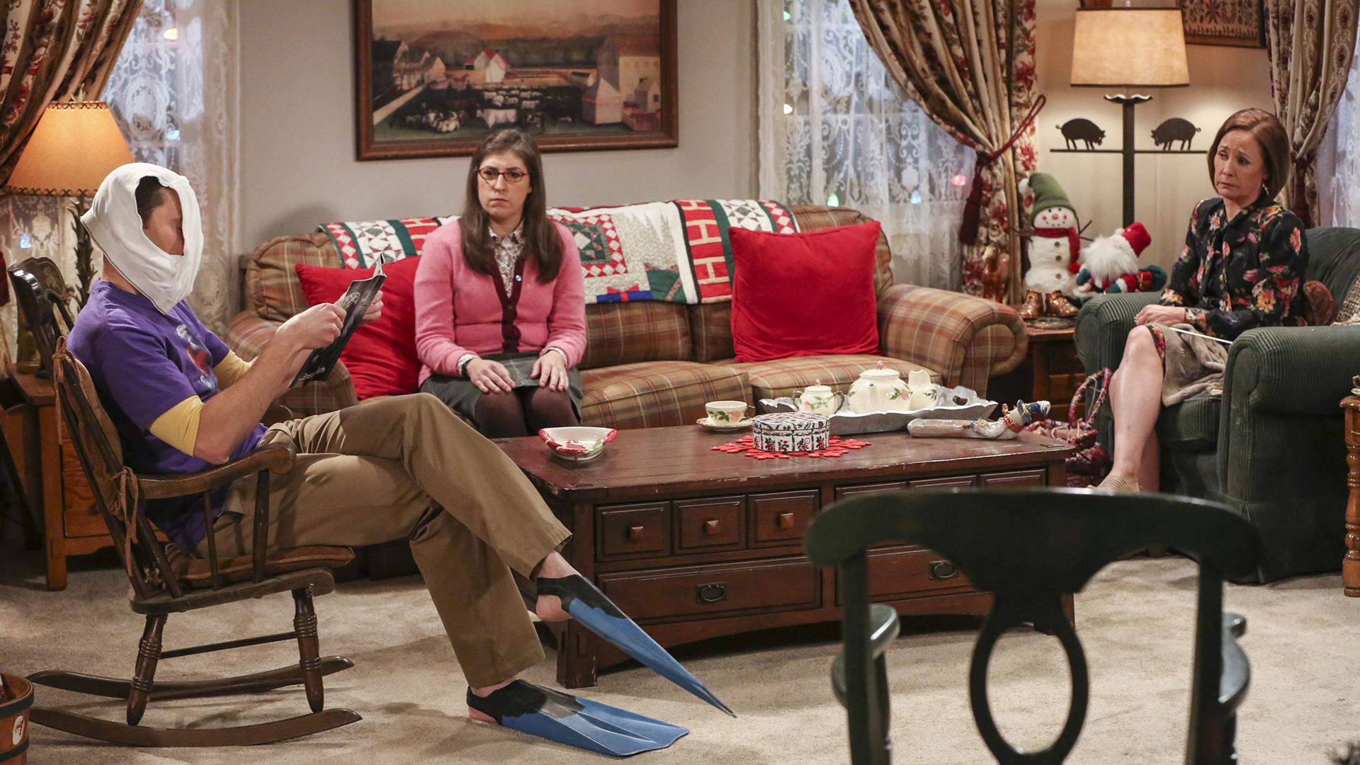 No one throws a tantrum like Sheldon!
