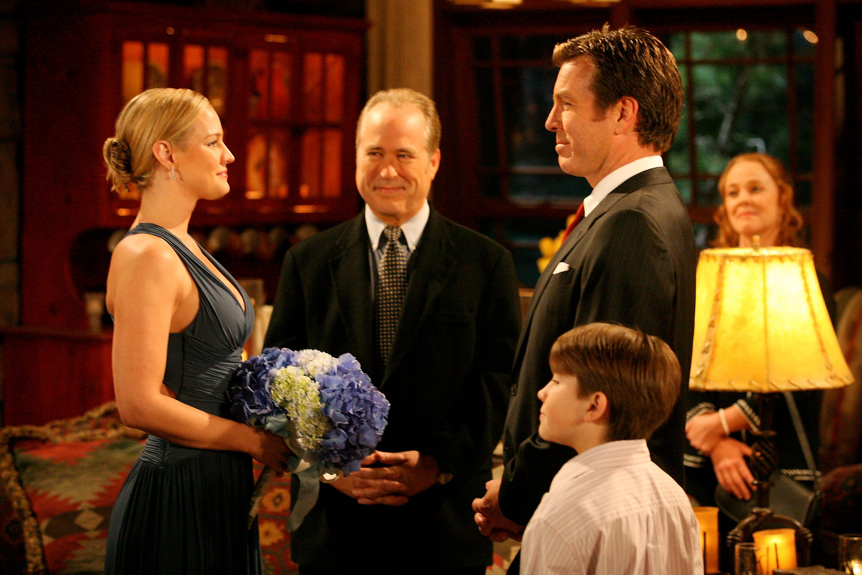 Sharon and Jack Abott married after both of their exes cheated on them.