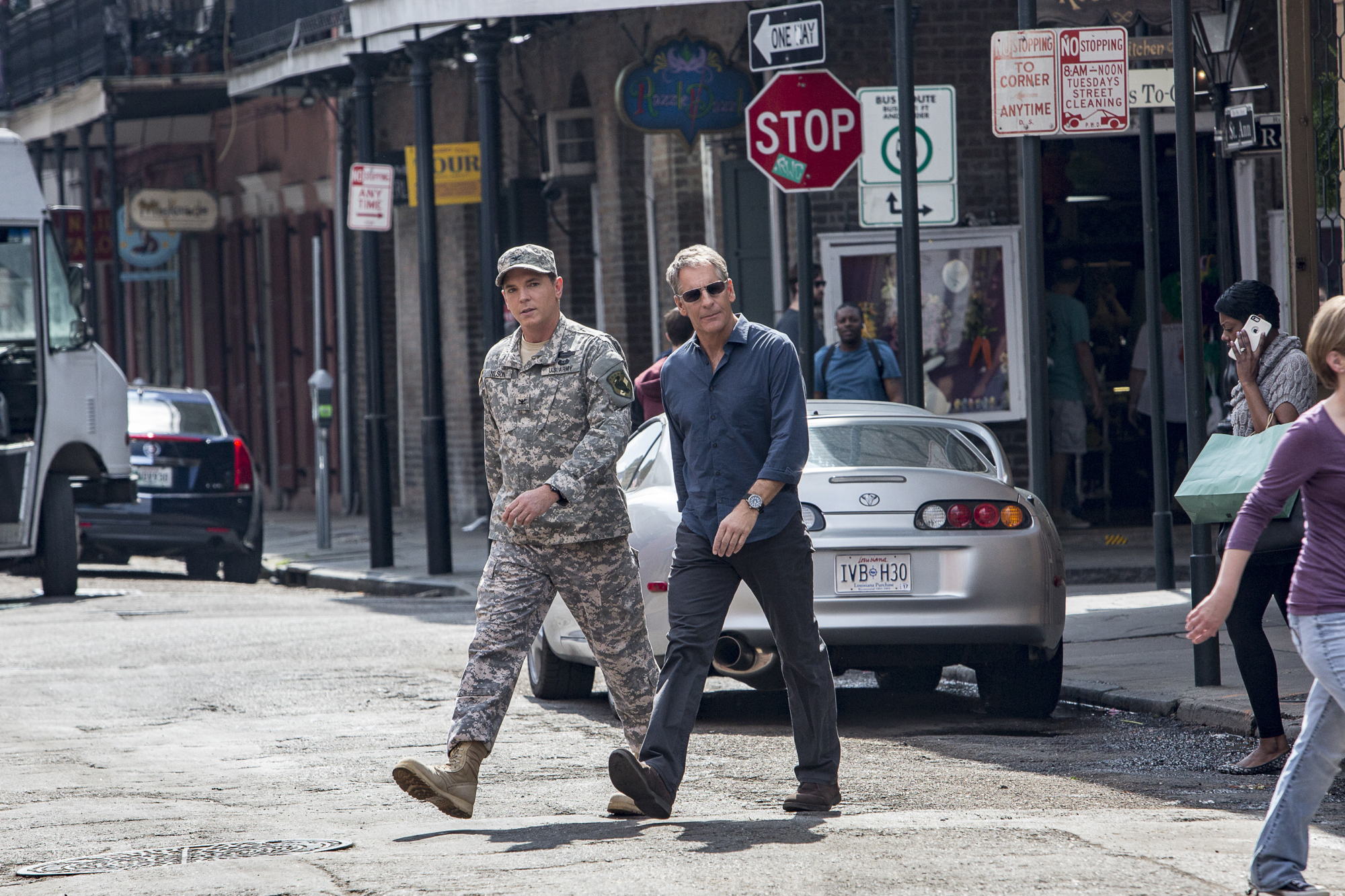 Nicholas Lea as Army Colonel Samuel Nilsen and Scott Bakula as Special Agent Dwayne Pride