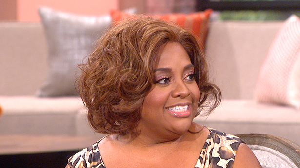 8. Hosting the show with Sherri Shepherd.