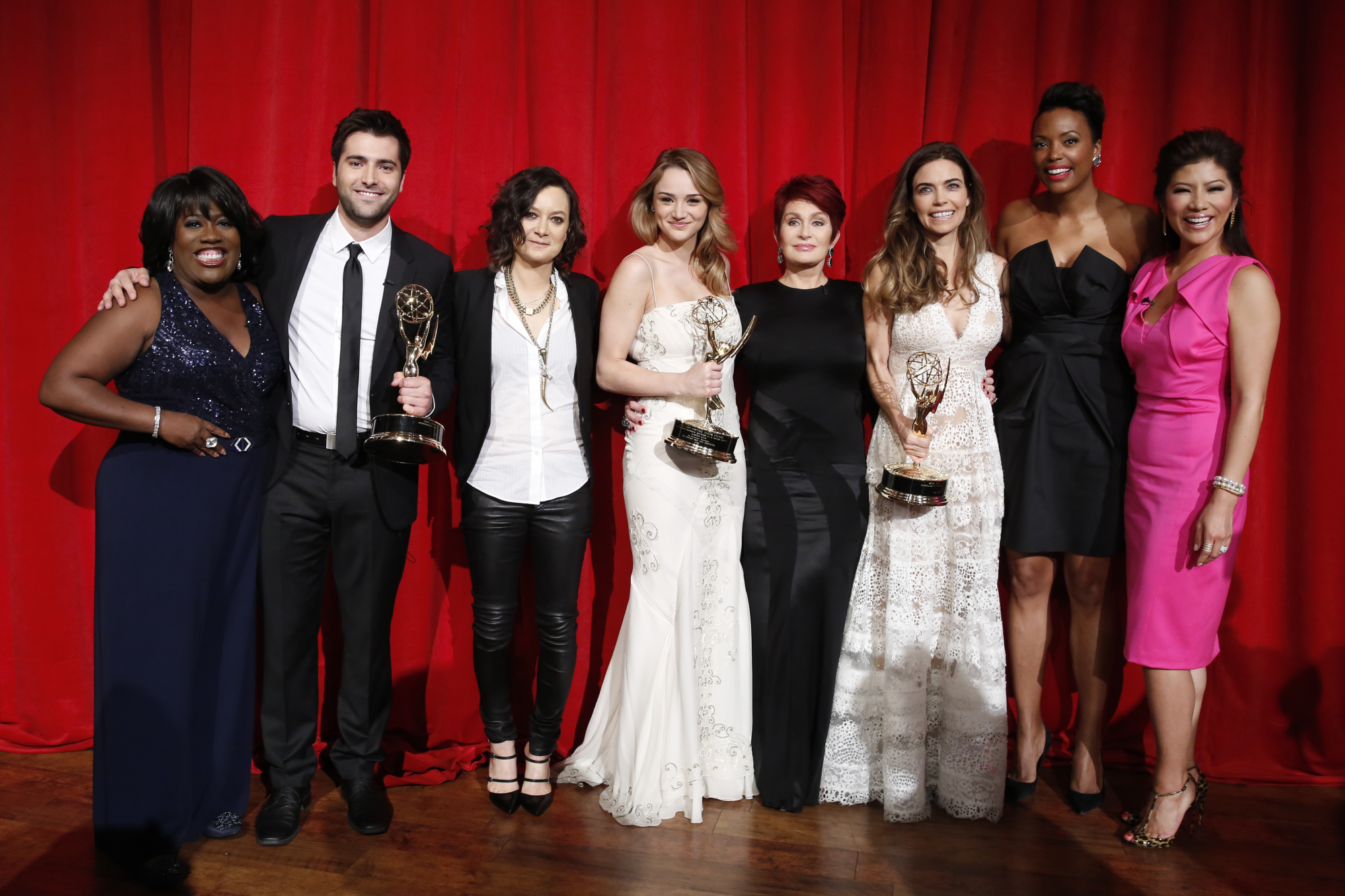 1. Daytime Emmy Award winners at The Talk after-party