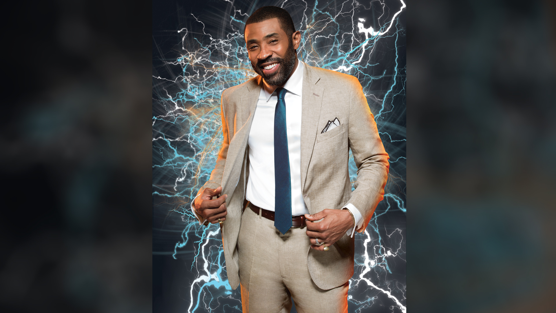 Black Lightning star Cress Williams is the superhero we've been waiting for.