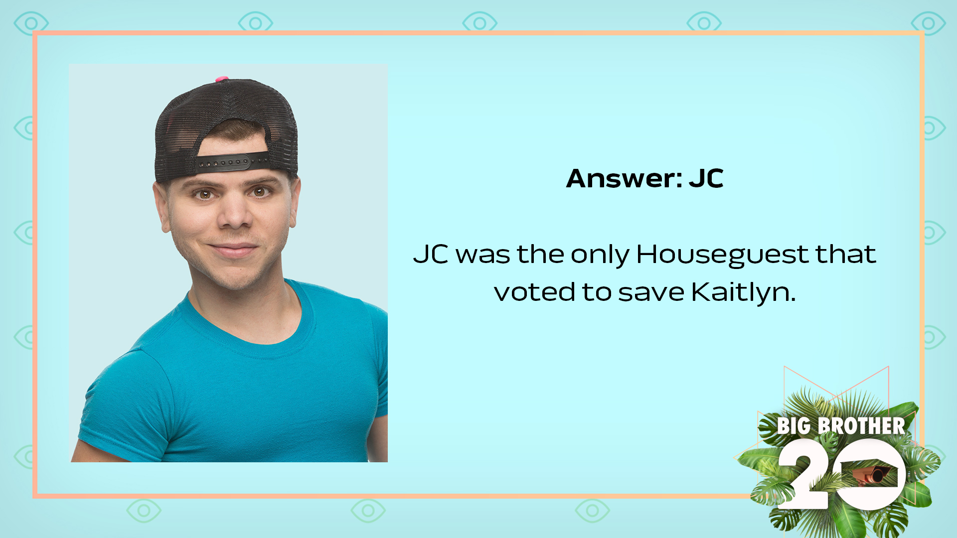 Answer: JC