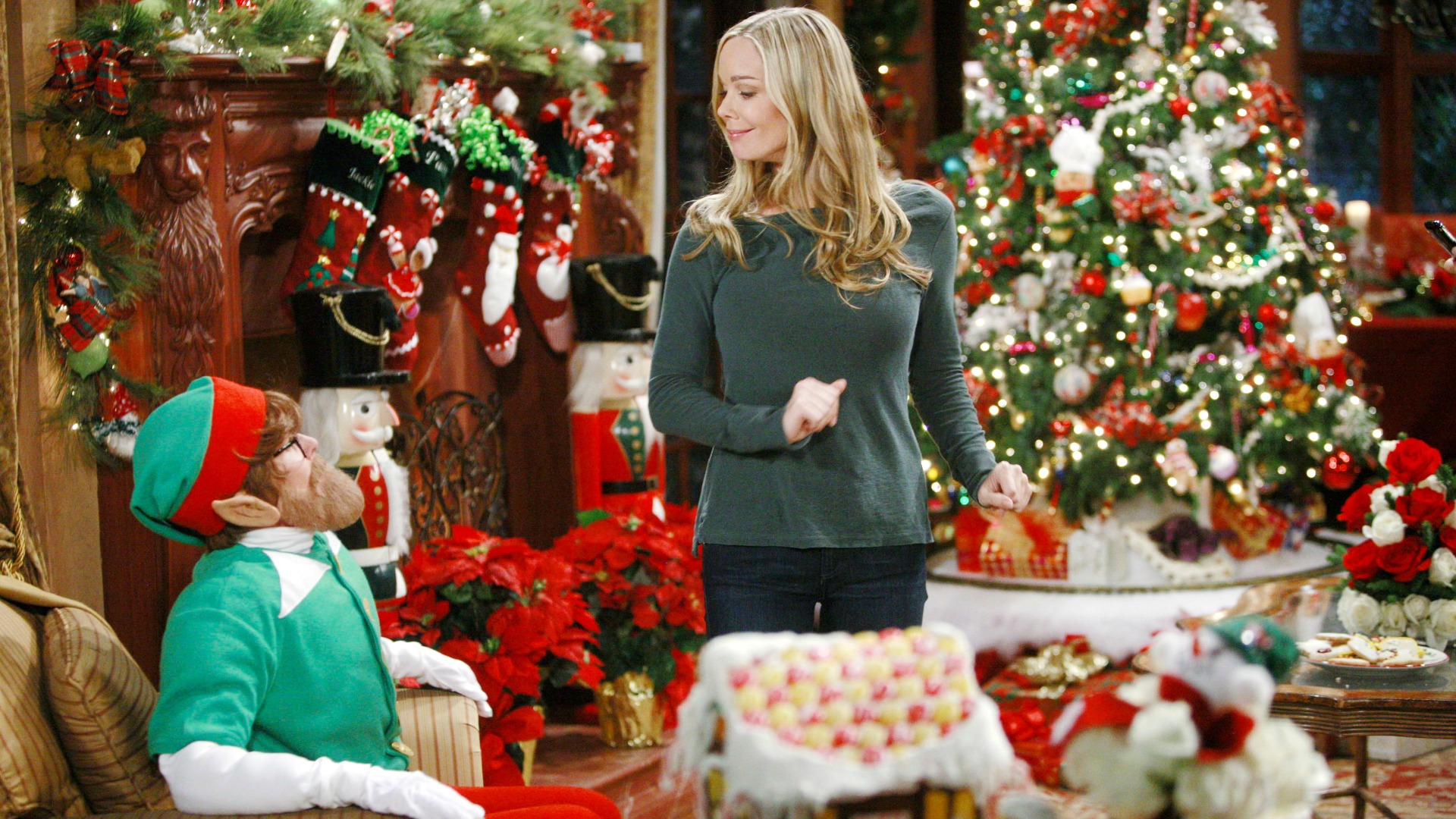 It wouldn't be Christmas without an elf—or Donna Logan!