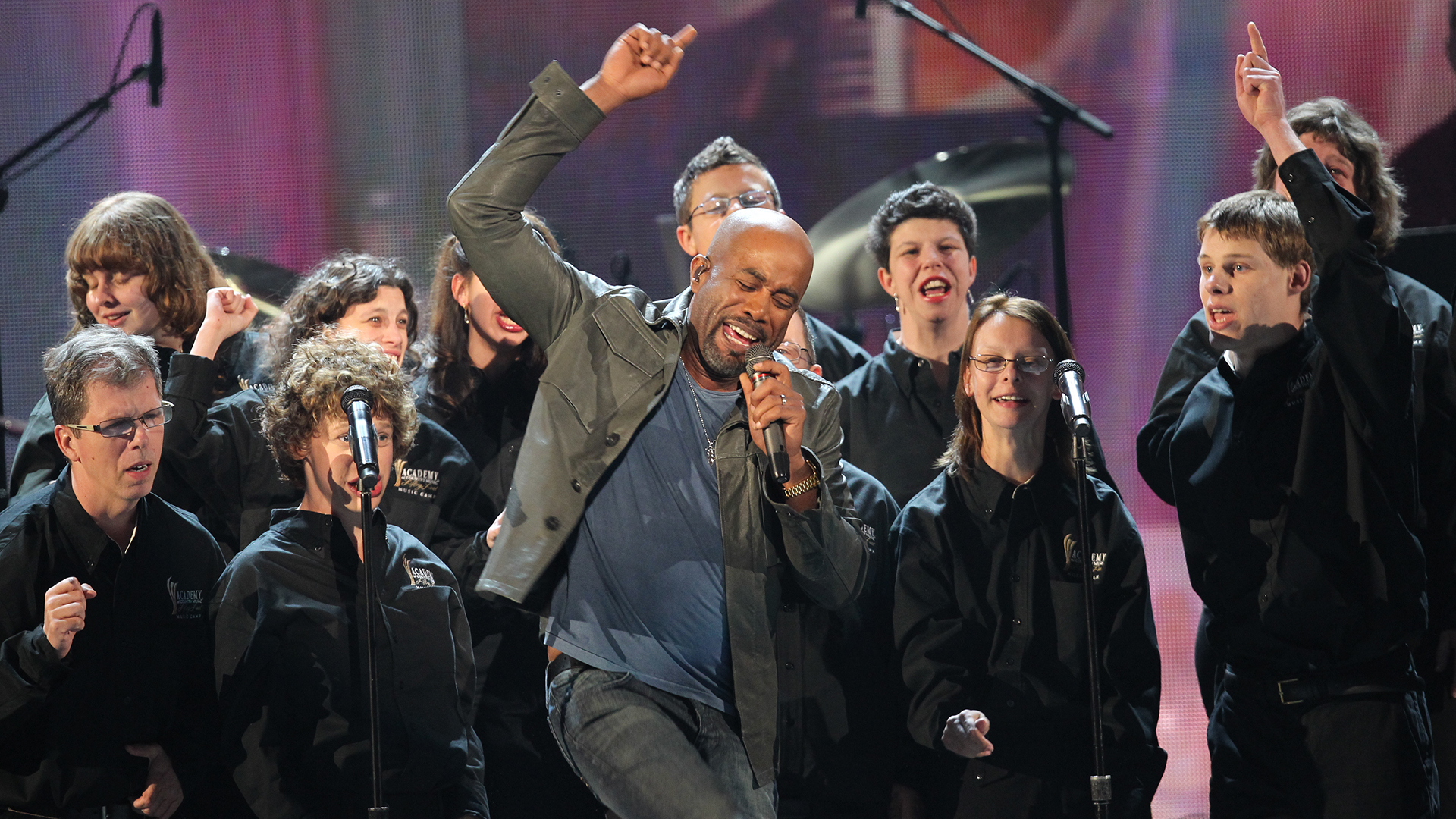 16. Darius Rucker performs