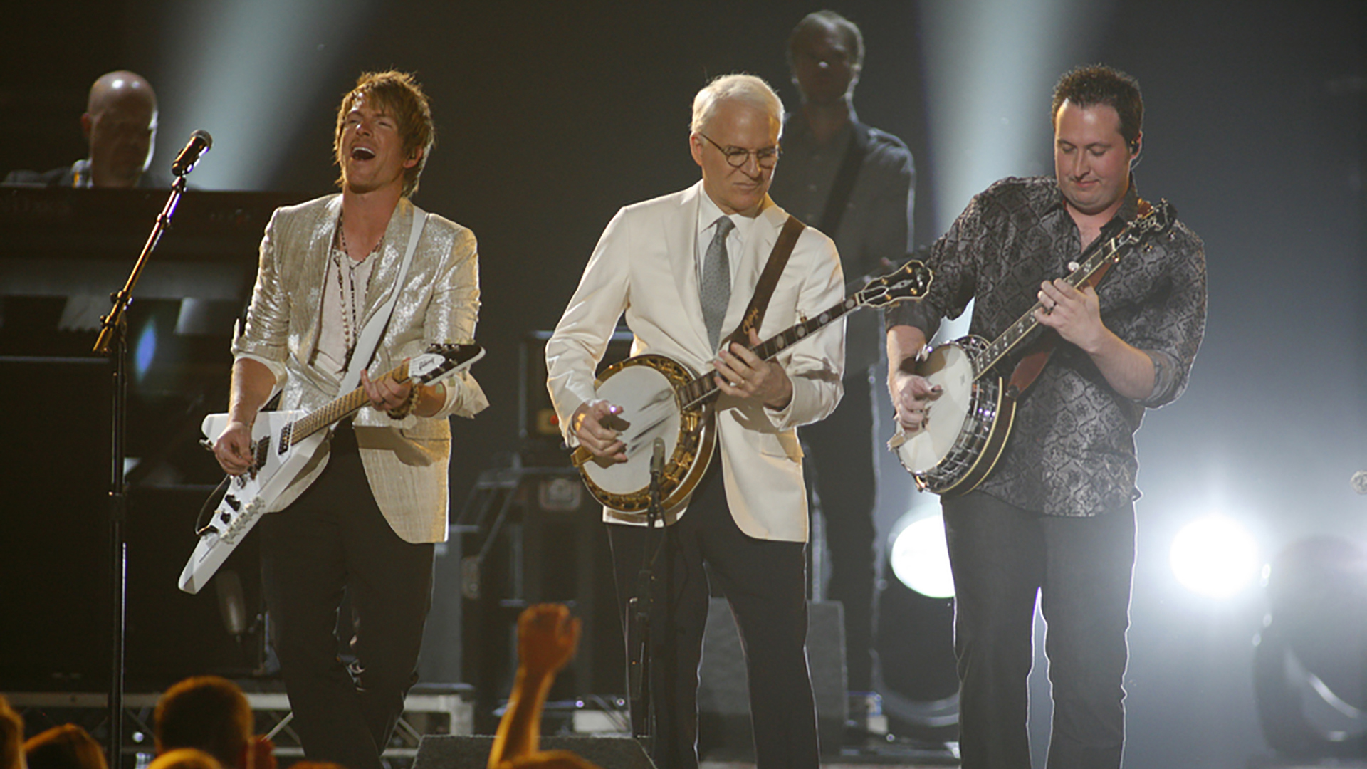 10. Rascal Flatts and Steve Martin perform