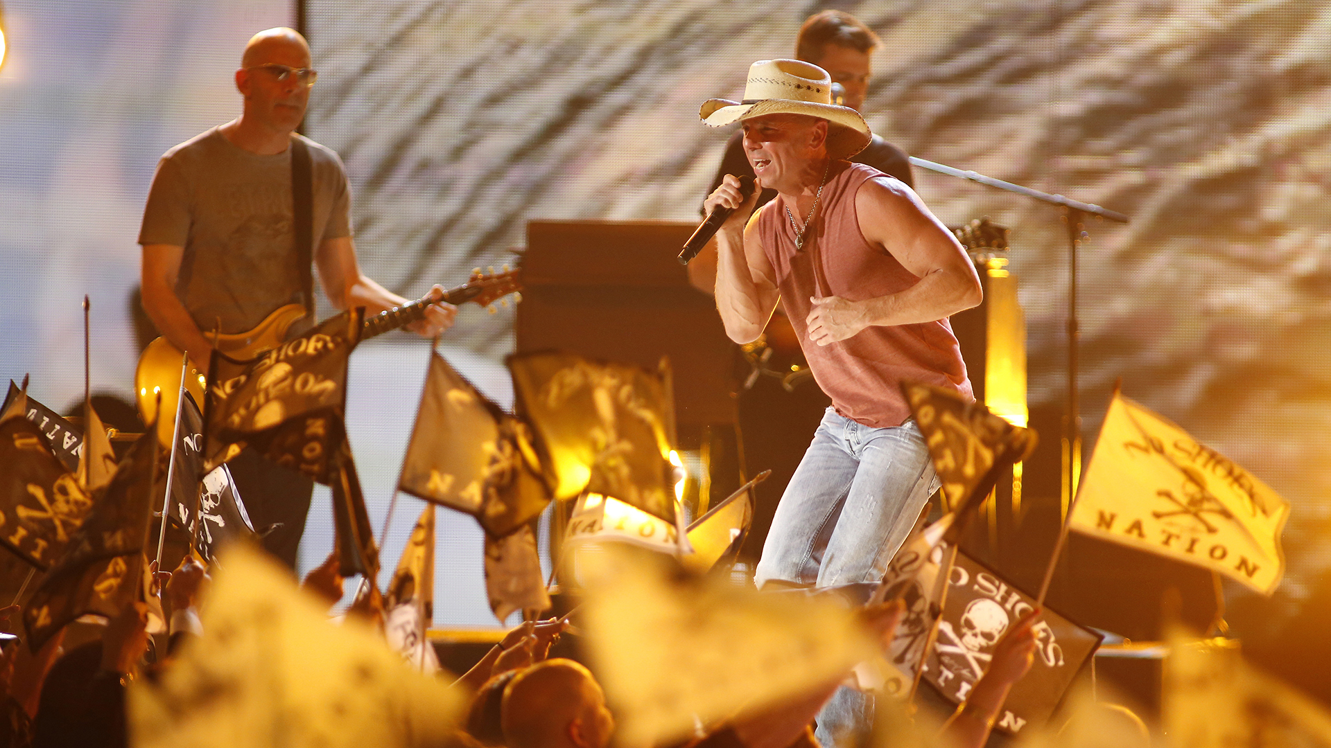 37. Kenny Chesney performs