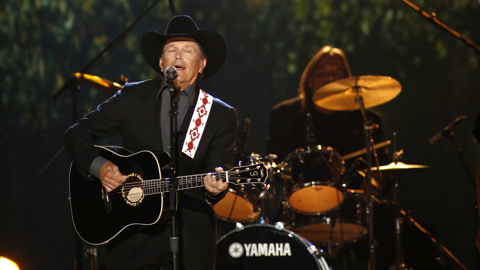 22. George Strait performs