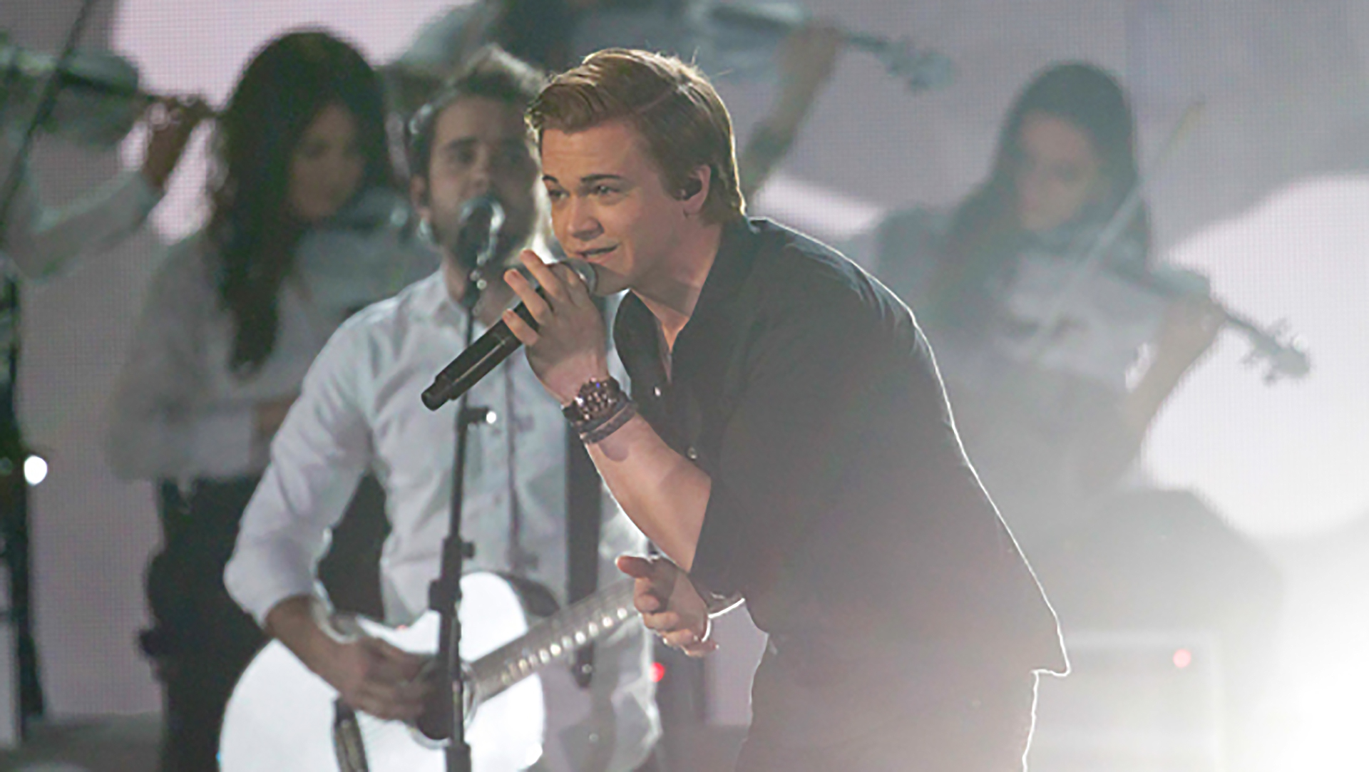 40. Hunter Hayes performs