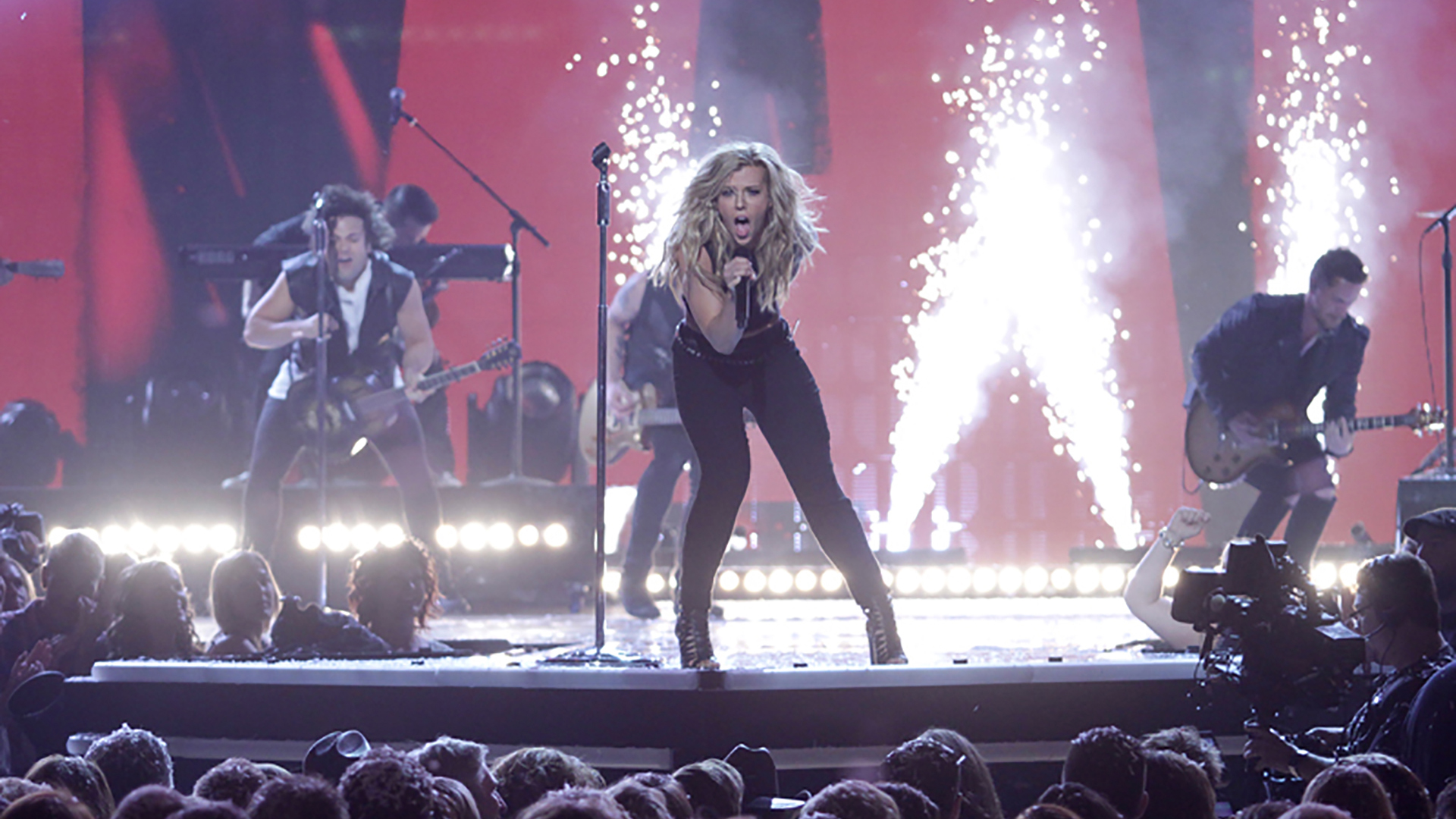 21. The Band Perry perform