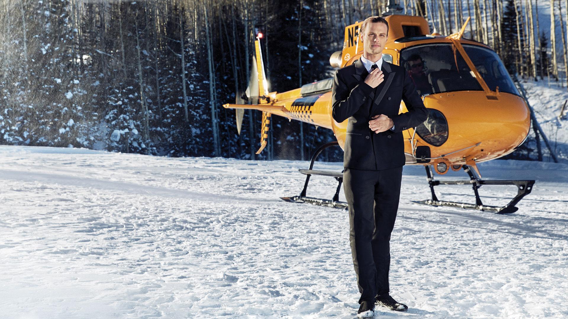 Matthew Gray Gubler as a dashing spy