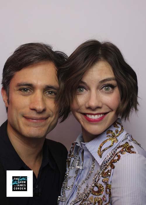 Gael Garcia Bernal & Lauren Cohan