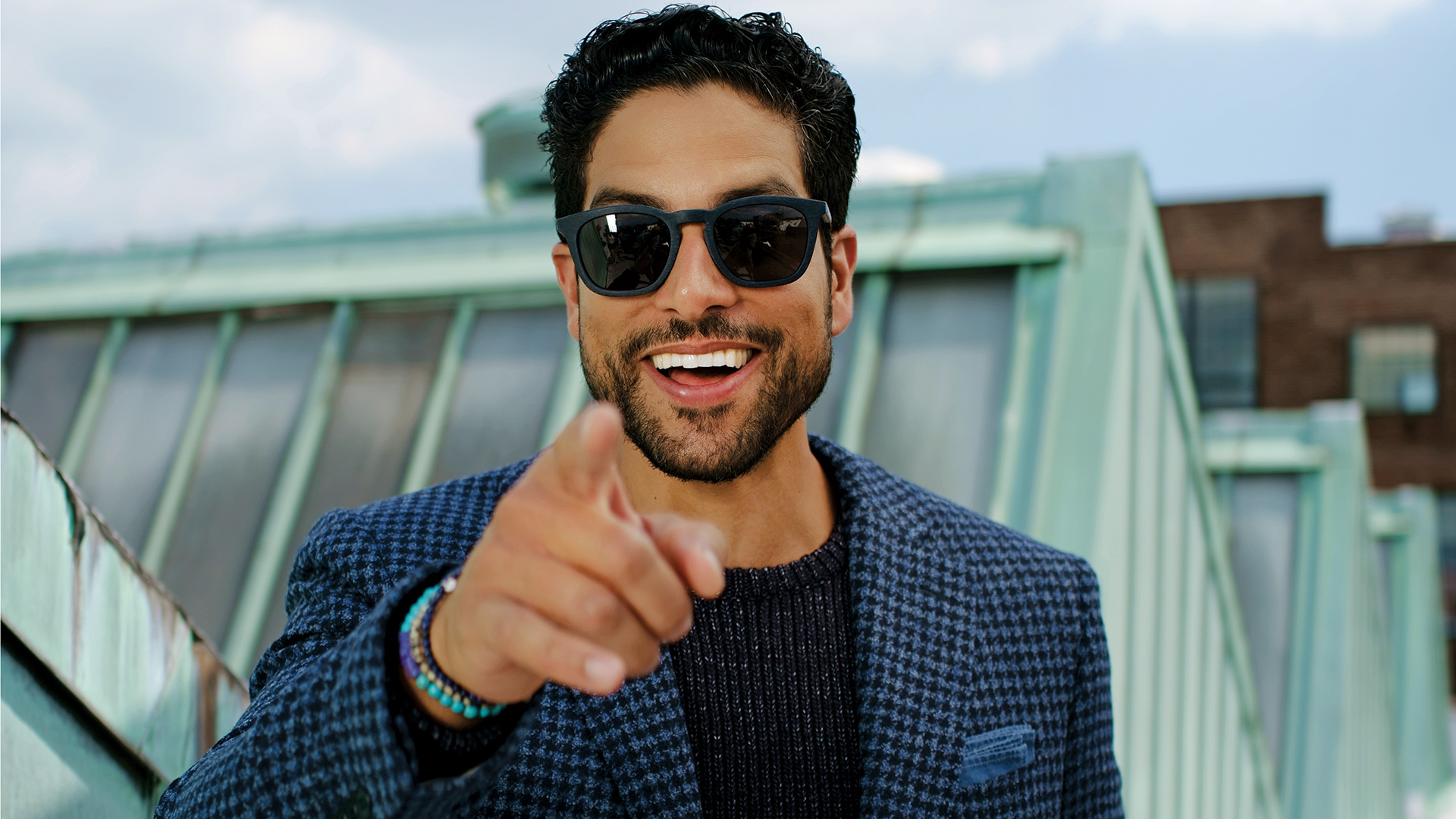 Point the way, Adam Rodriguez!