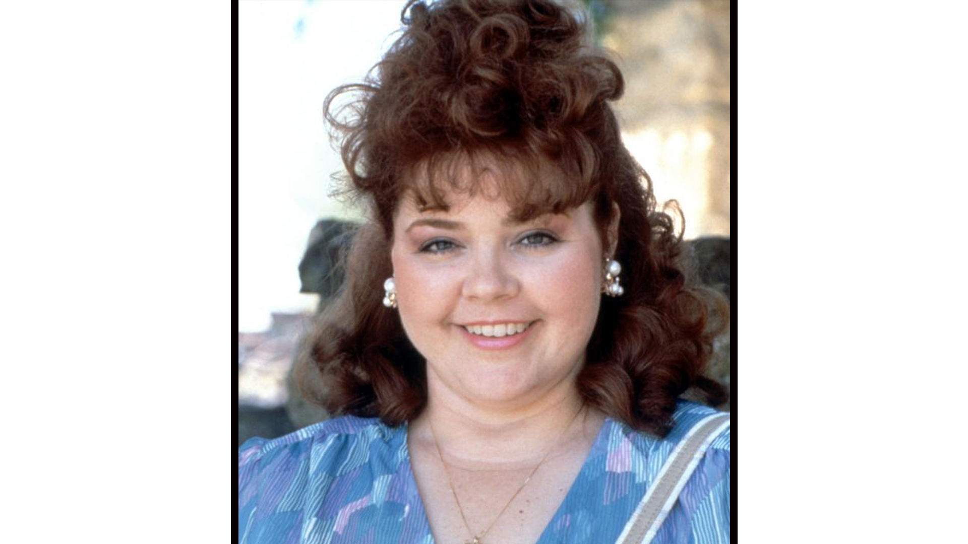 Patrika Darbo was too cute for words with bouncy curls and pearl earrings.